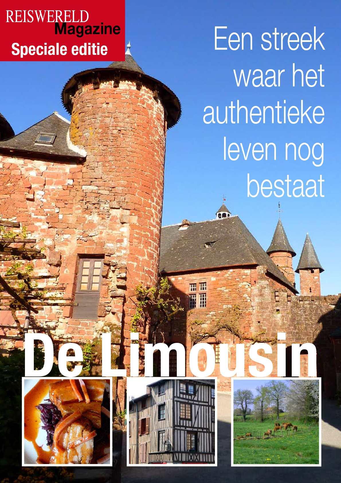Reportage in de Limousin van Reiswereld Magazine.be
