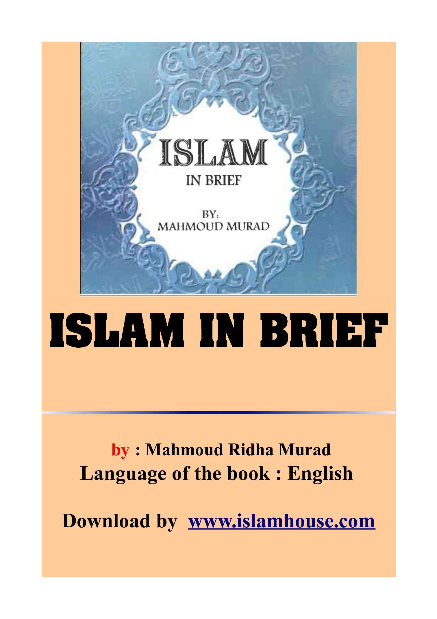 Calamo Islam In Brief