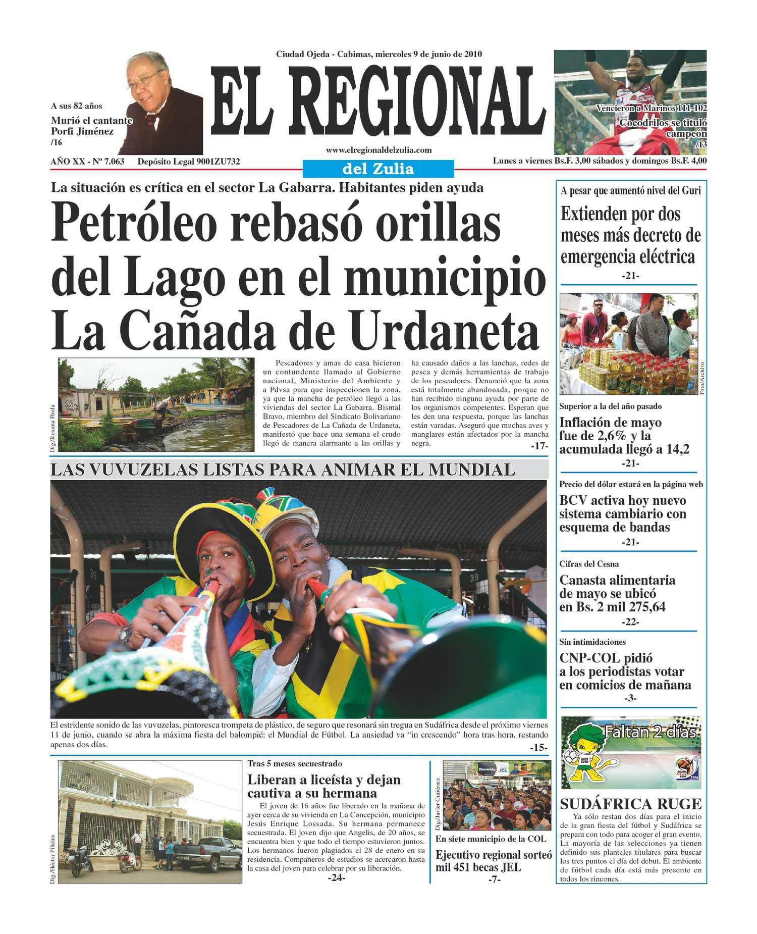Calaméo - El Regional del Zulia 09-06-2010