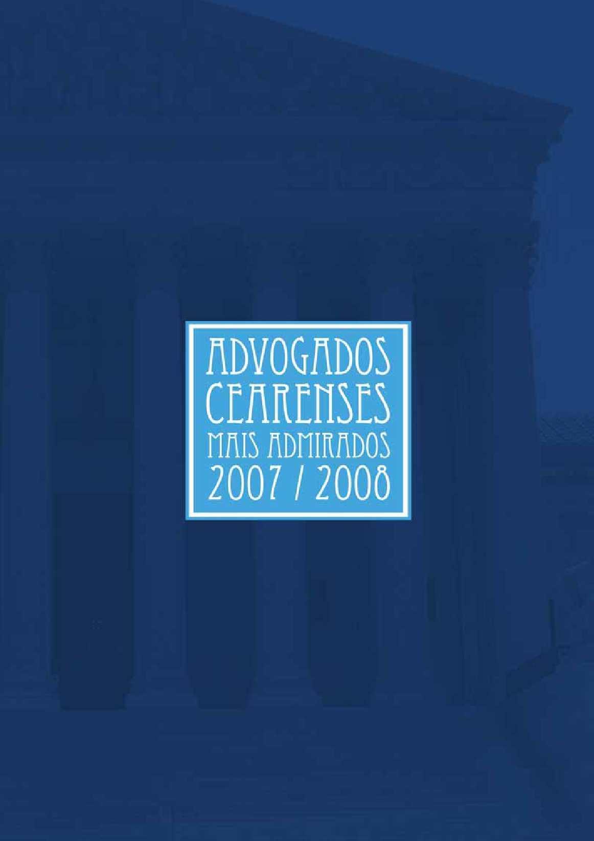 Calaméo - Advogados Cearense 200  2008 f02df882cb