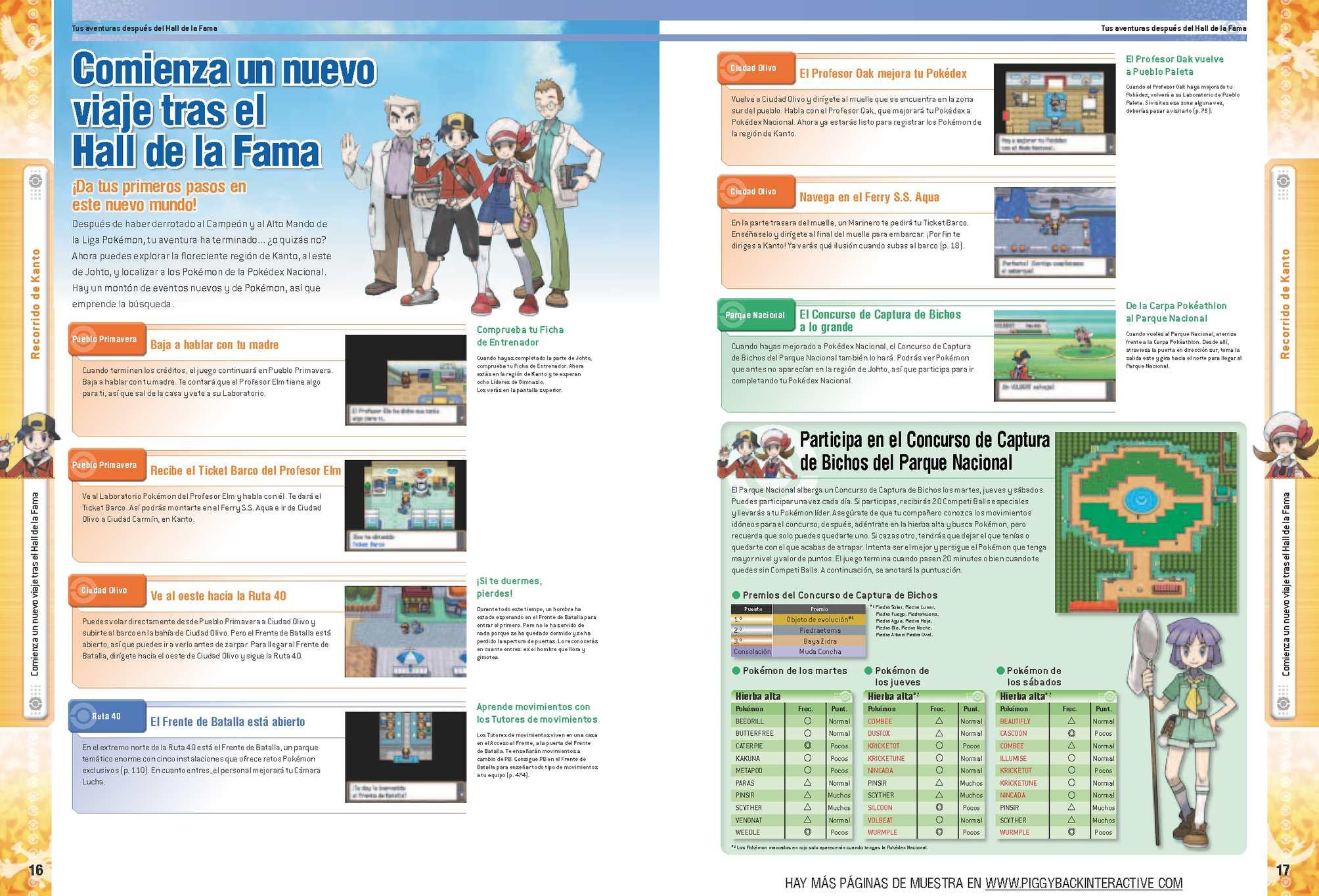 Calam o guia pokemon plata soulsilver i oro heartgold for Guia mecanica de cocina pdf