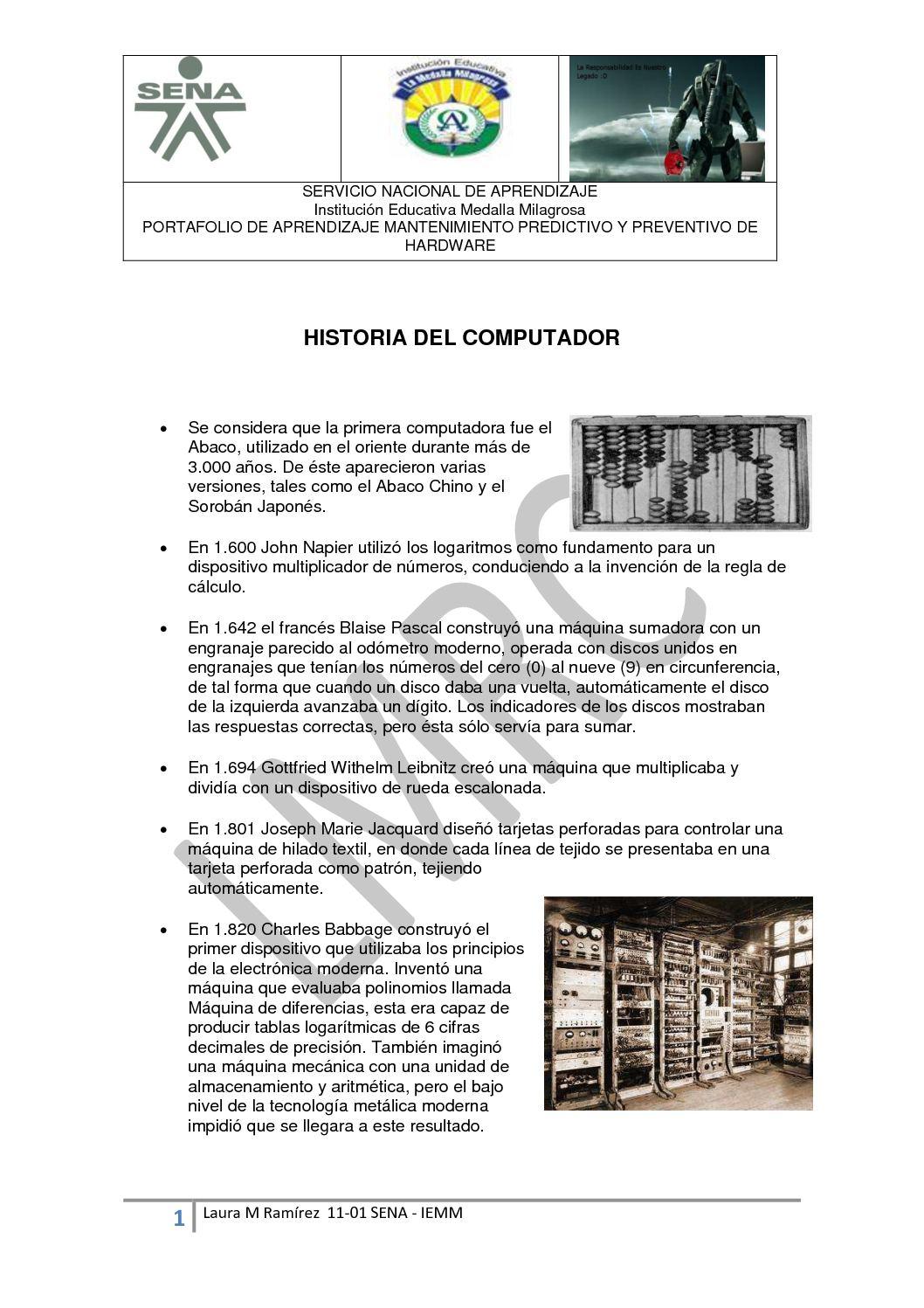 Calaméo - HISTORIA DEL PC
