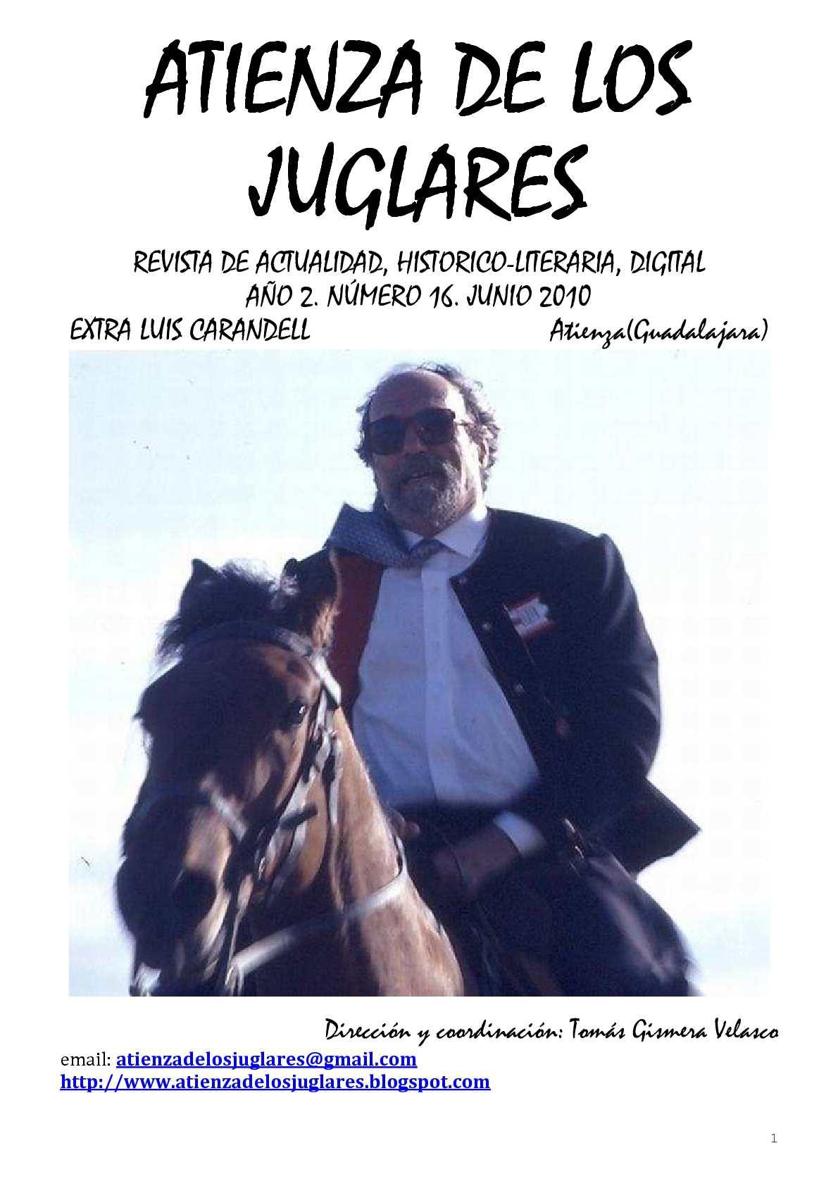 Calaméo - ATIENZA DE LOS JUGLARES-EXTRA LUIS CARANDELL