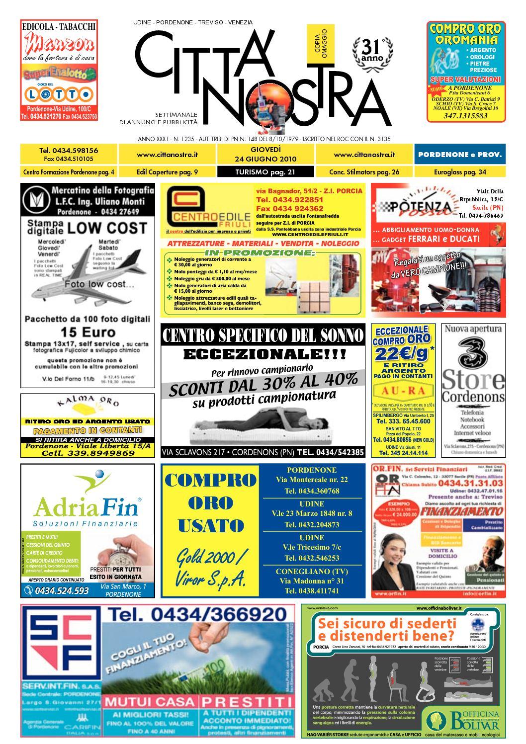 Calaméo Citt Nostra Pordenone Del 24 06 2010 N 1235