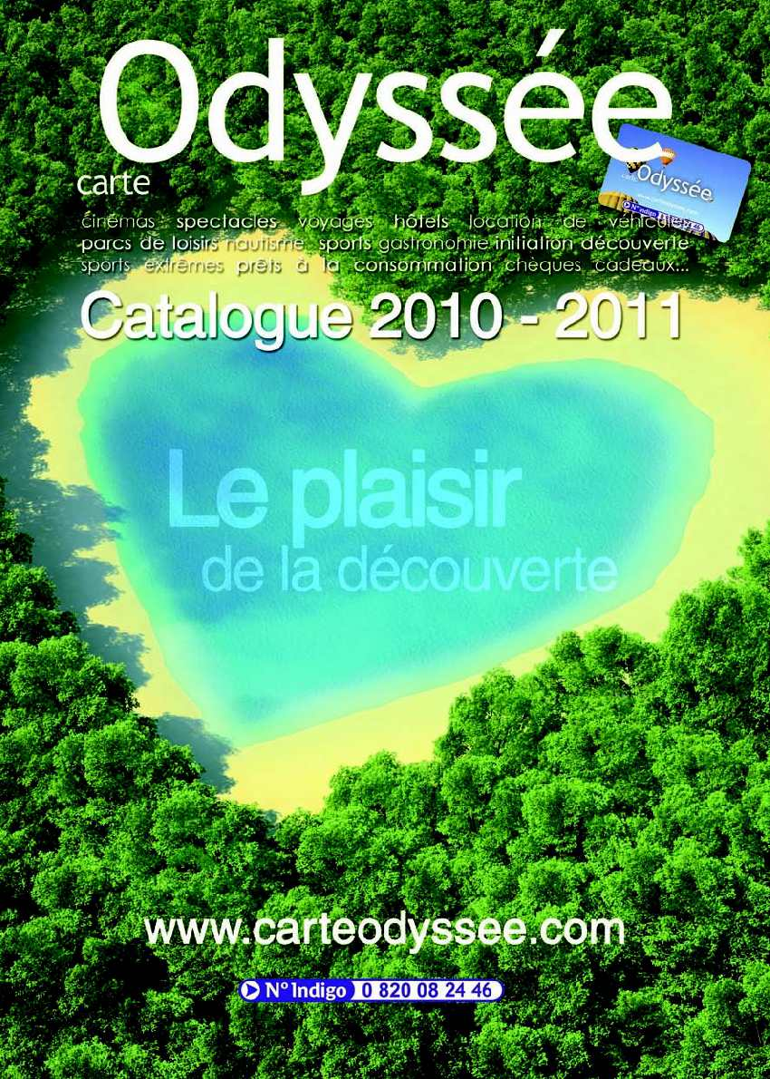 Catalogue Carte Odyssée 2010