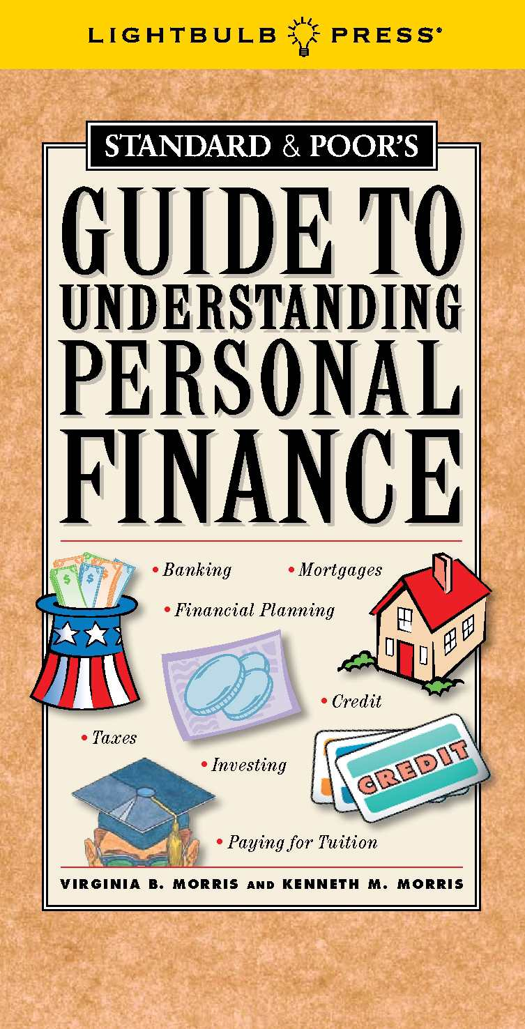 Standard & Poor's Guide To Understanding Personal Finance