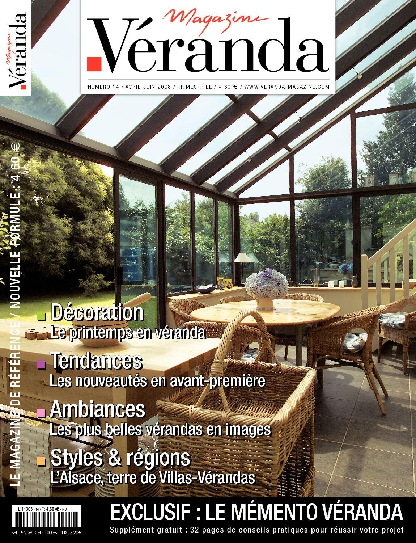 calam o v randa magazine n 14 avril juin 2008 dito et sommaire. Black Bedroom Furniture Sets. Home Design Ideas