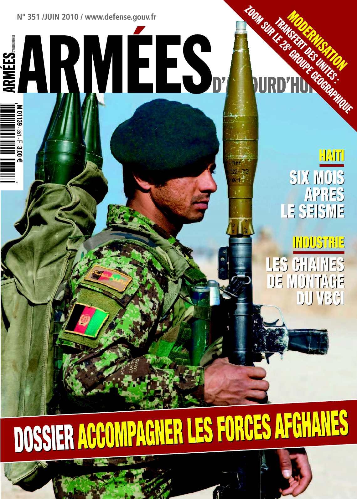 Armées d'aujourd'hui n°351