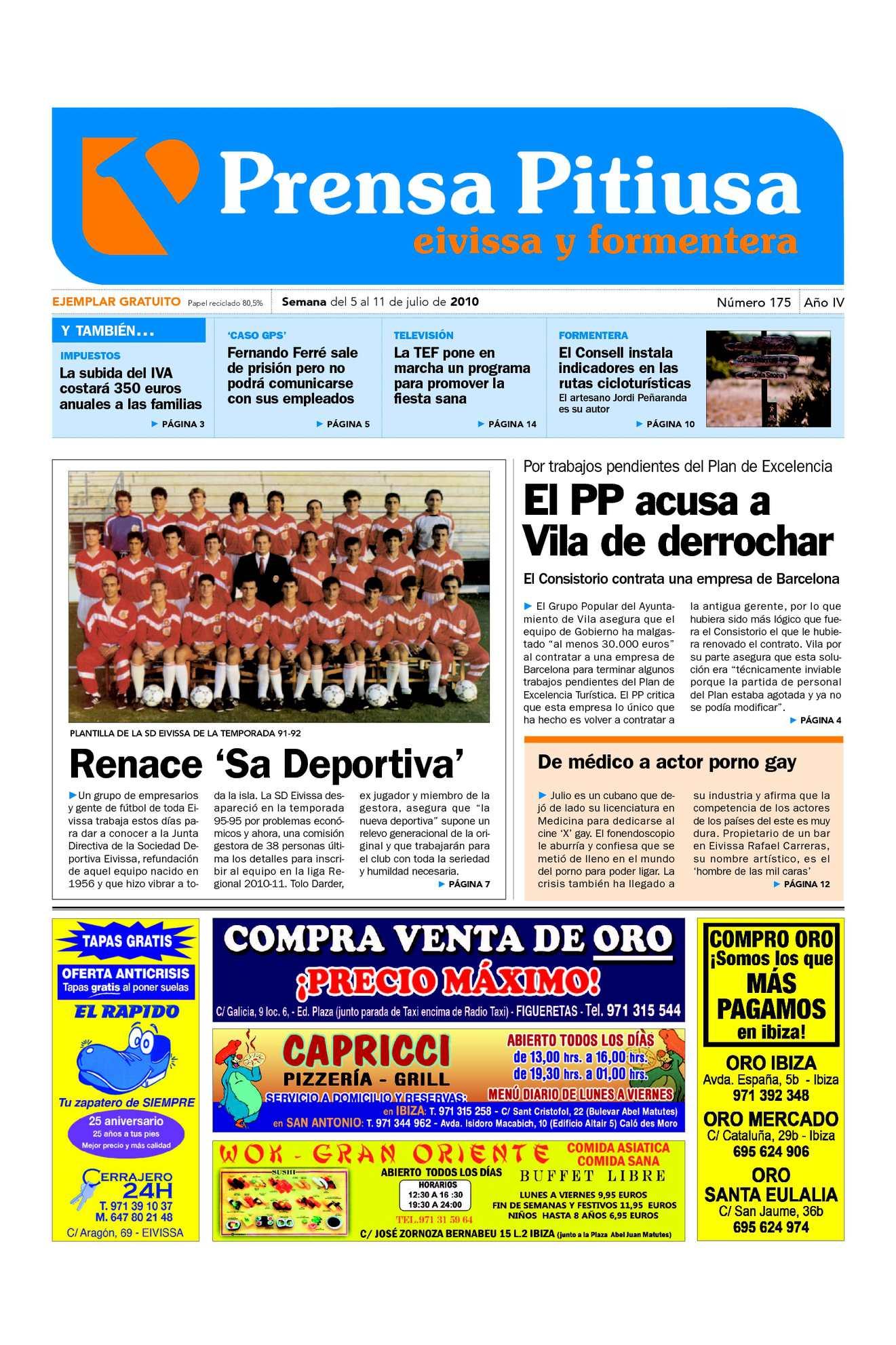 Calaméo - Prensa Pitiusa edición 175