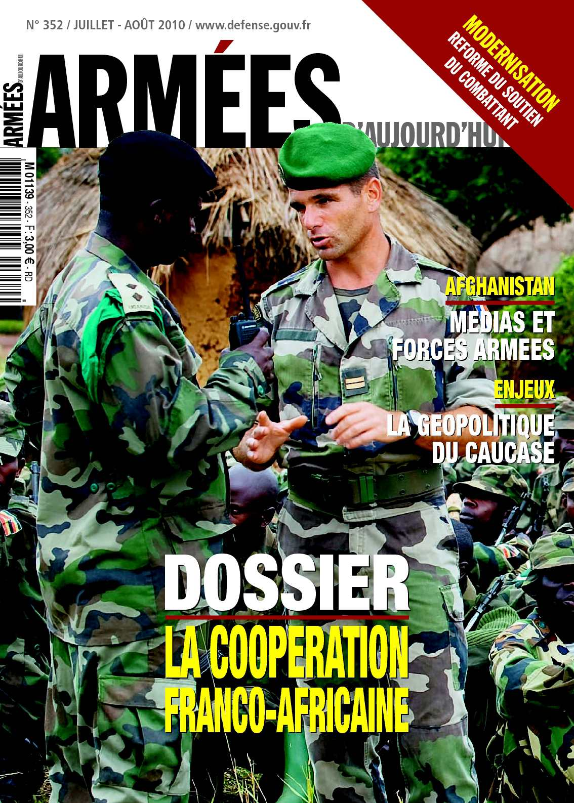 Armées d'aujourd'hui n° 352