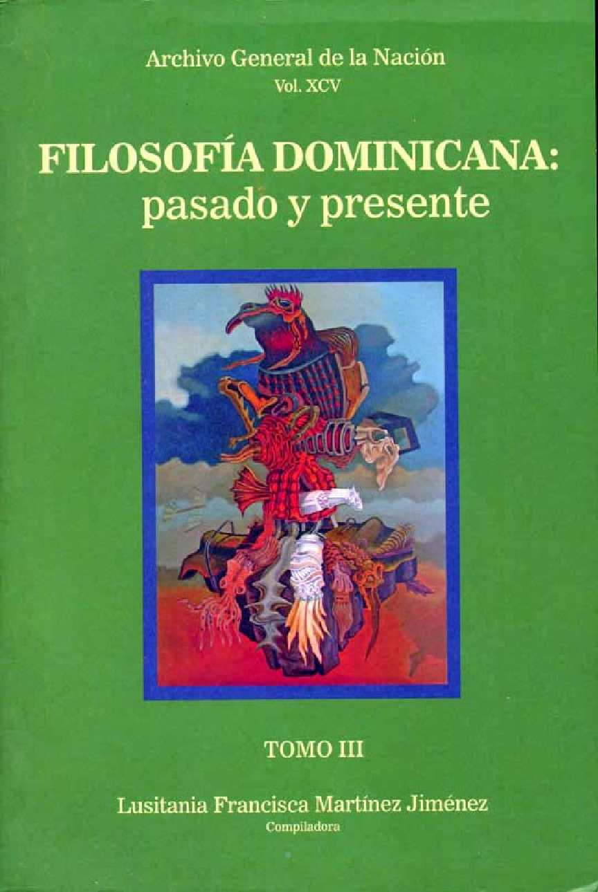 Calaméo - Filosofía dominicana: pasado y presente. Tomo III