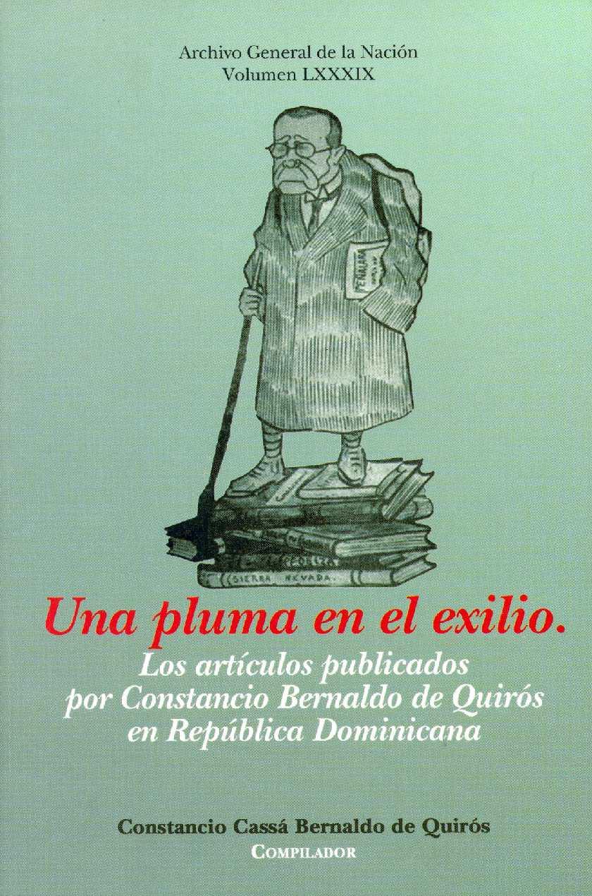 Calaméo - Vol 89. Una Pluma en el exilio, Los artículos publicados ...