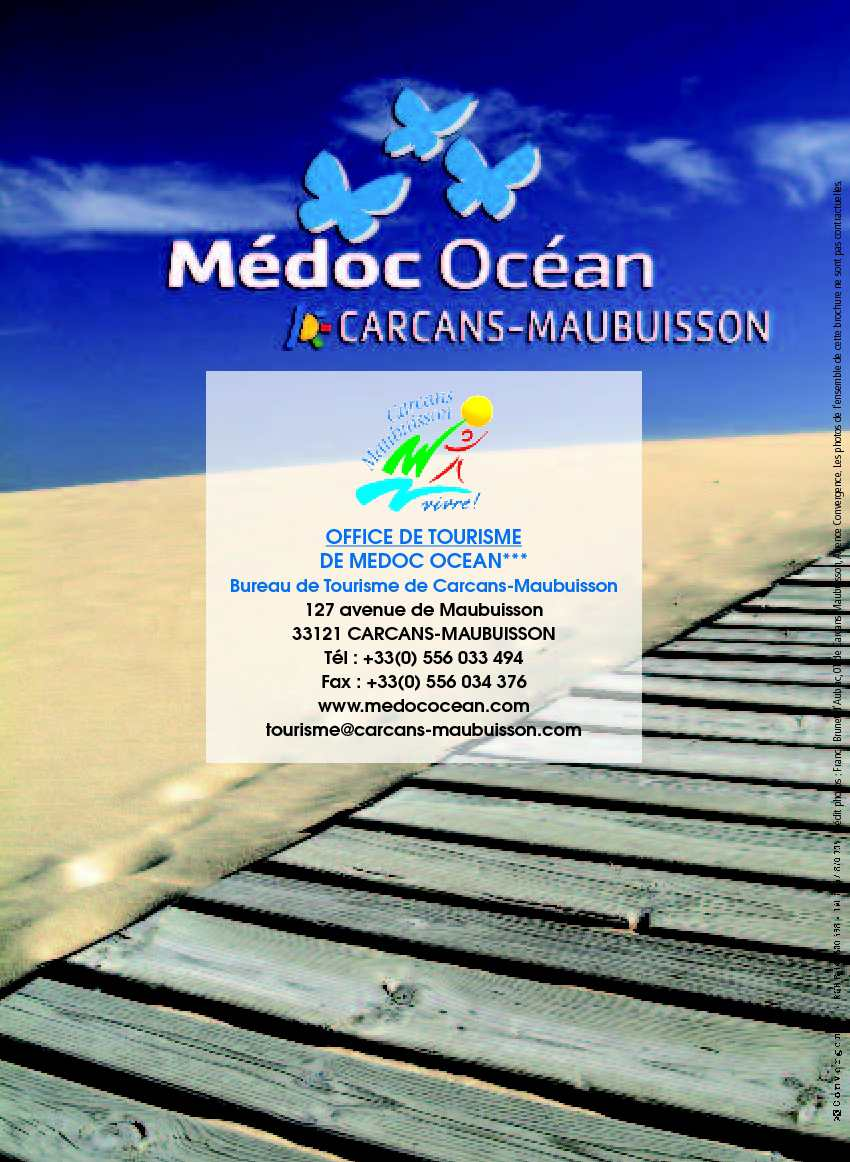 Calam o guide accueil carcans maubuisson - Carcans maubuisson office de tourisme ...