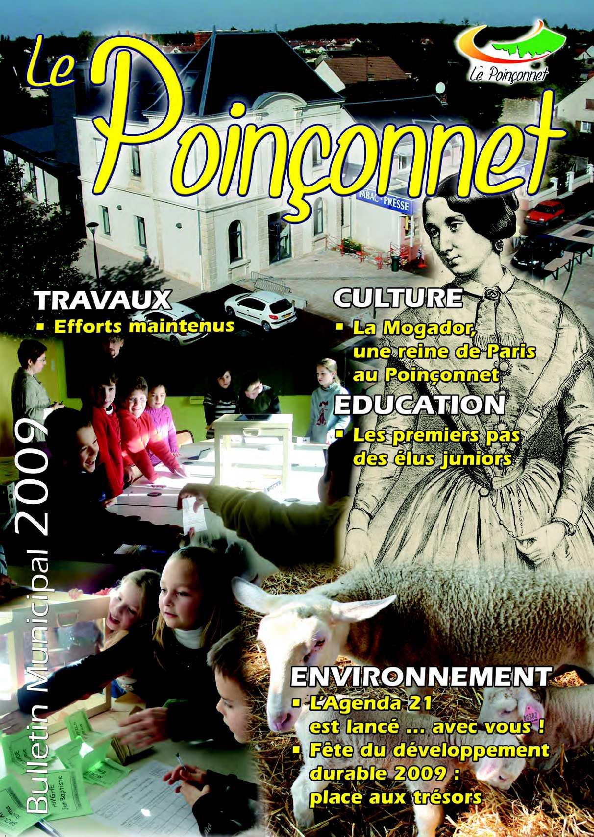 Calam o le poin onnet bulletin municipal 2009 for Balsan le poinconnet