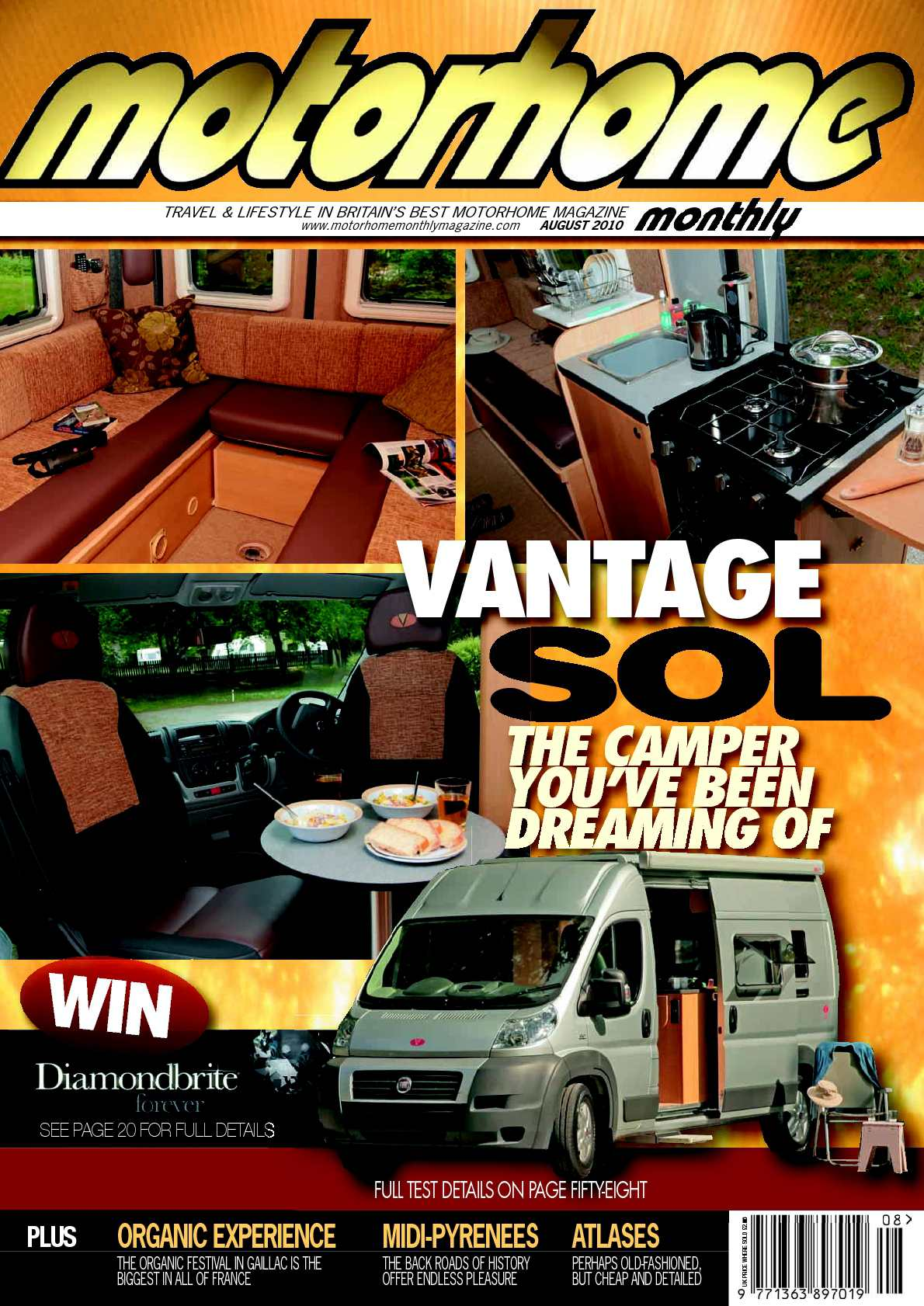 Calaméo August Motorhome Monthly Magazine 2010