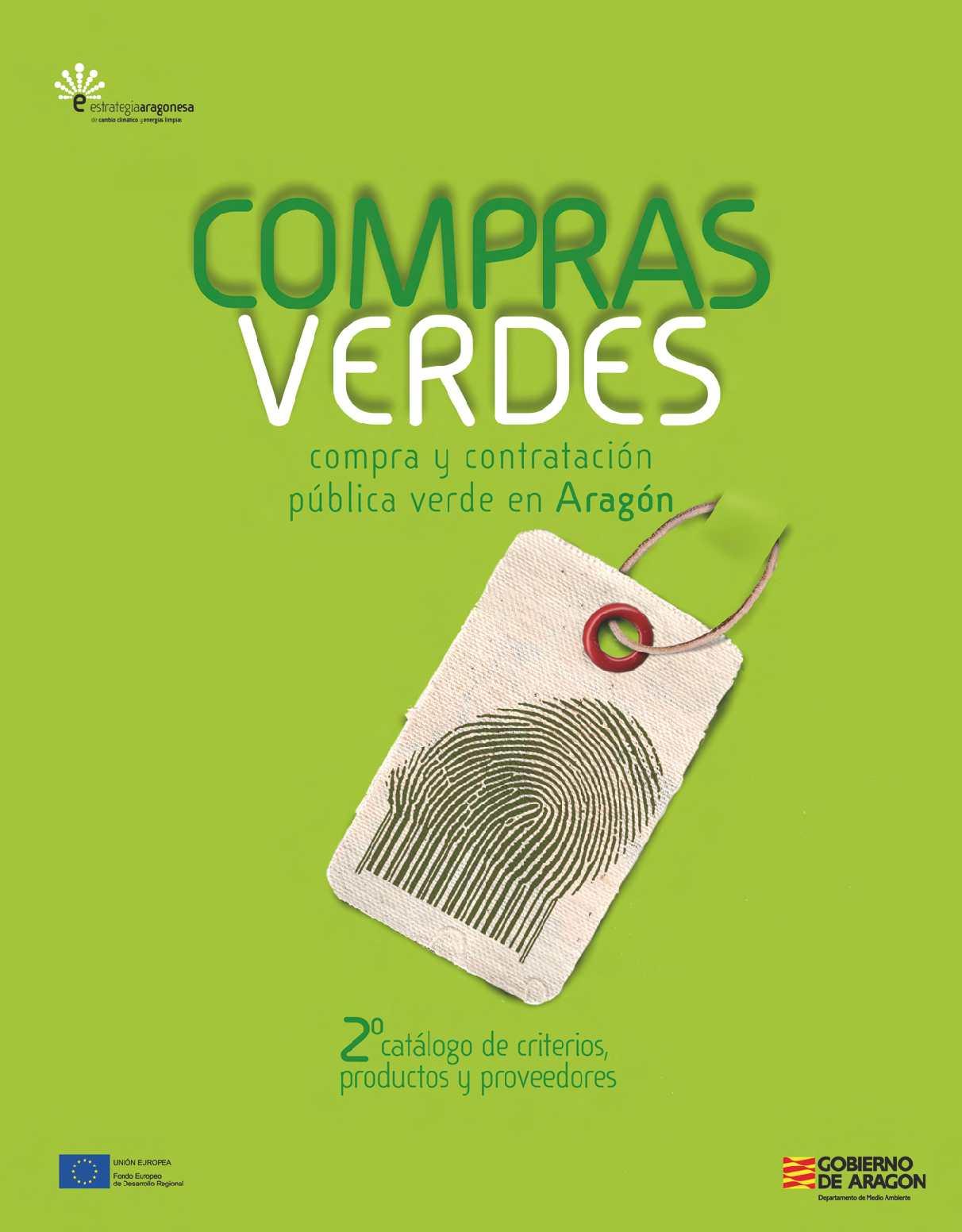 Calaméo - Catálogo de Compras Verdes en Aragón