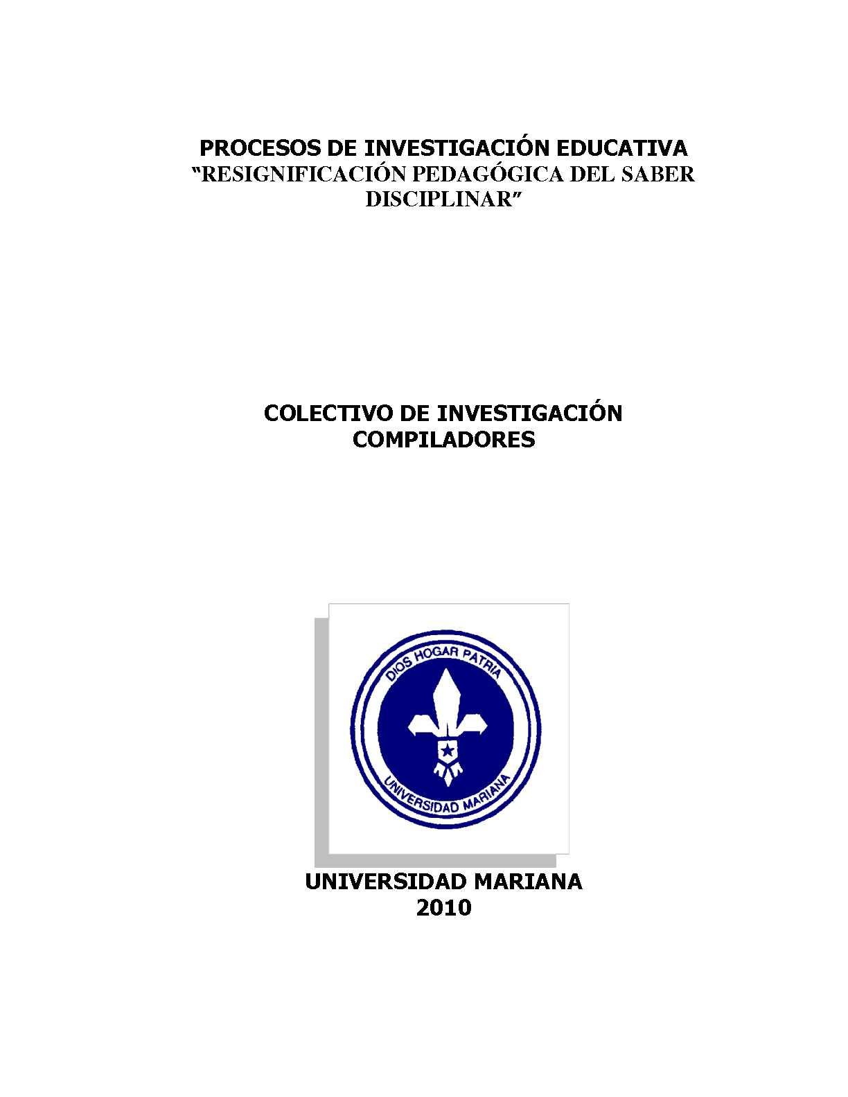 COMPILADO DE INVESTIGACIÓN IV