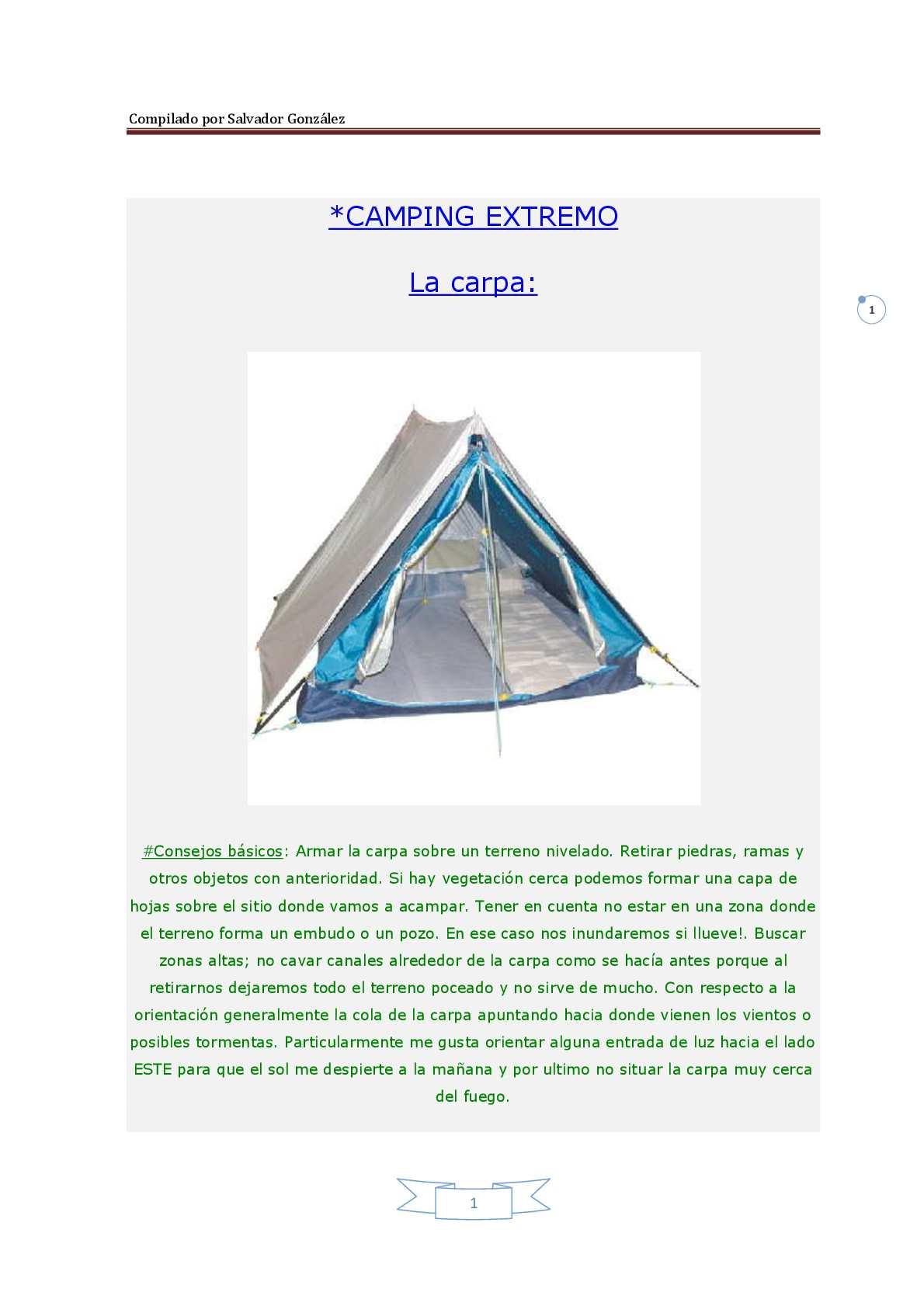 Calaméo - Camping Extremo y Supervivencia