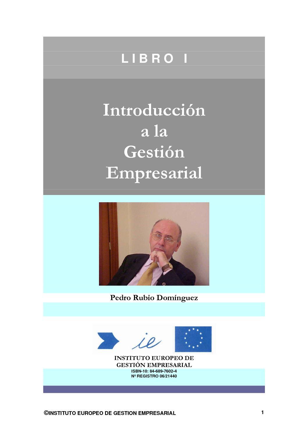 Calaméo - Introducción a la gestión empresarial - tel