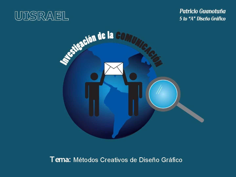 Metodos Creativos de Diseño Grafico