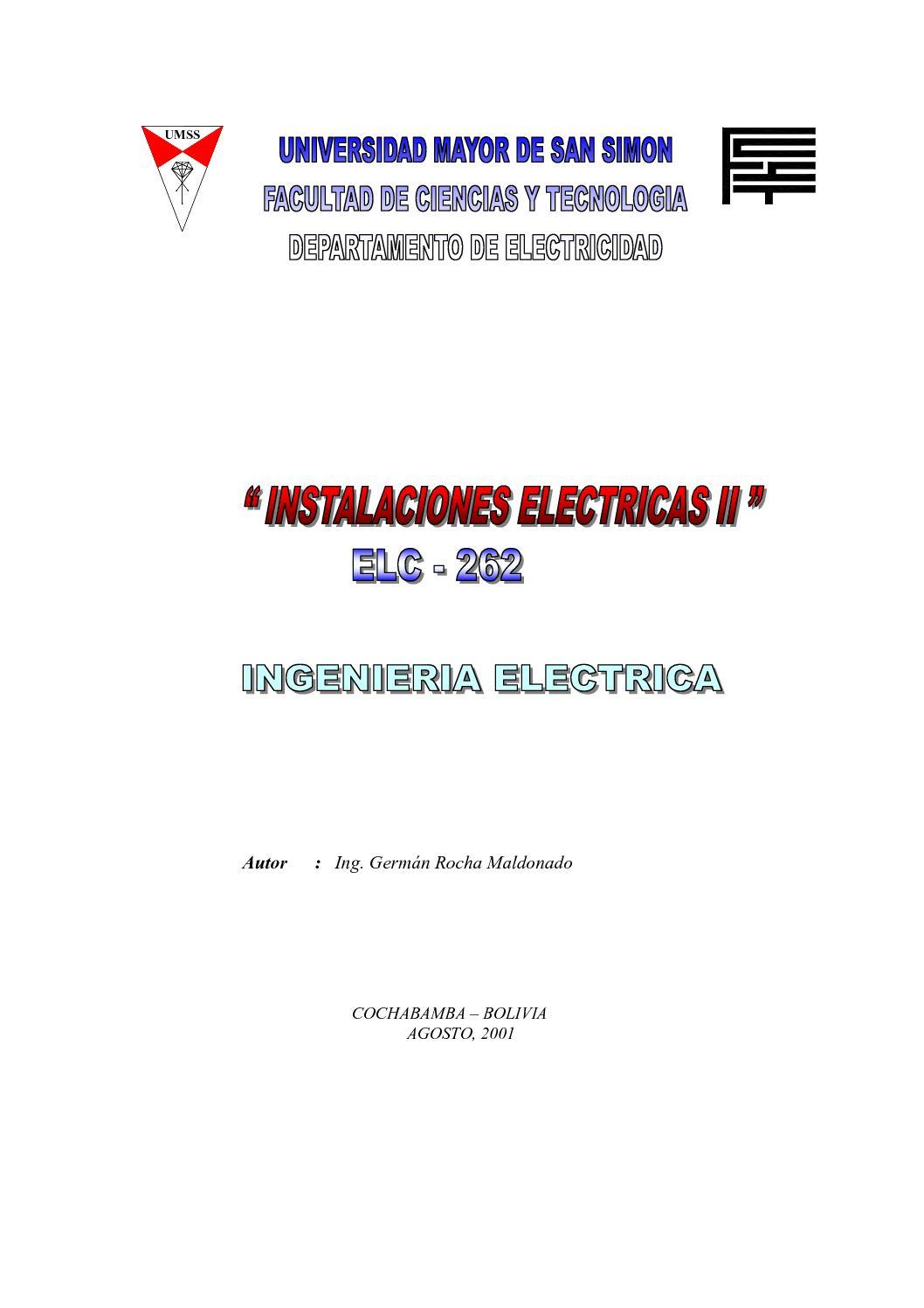 Calaméo - Libro_Instalaciones_Electricas_UMSS