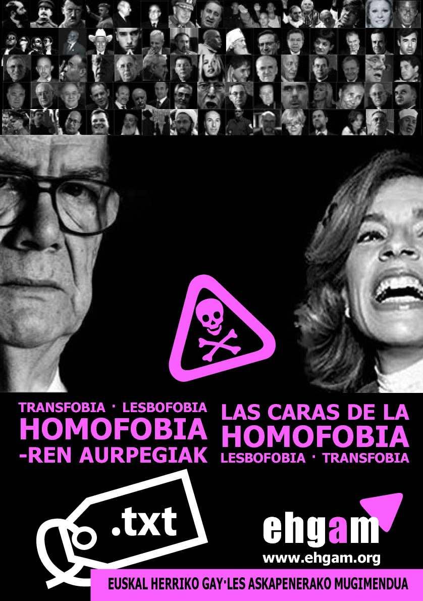 Las caras de la homofobia