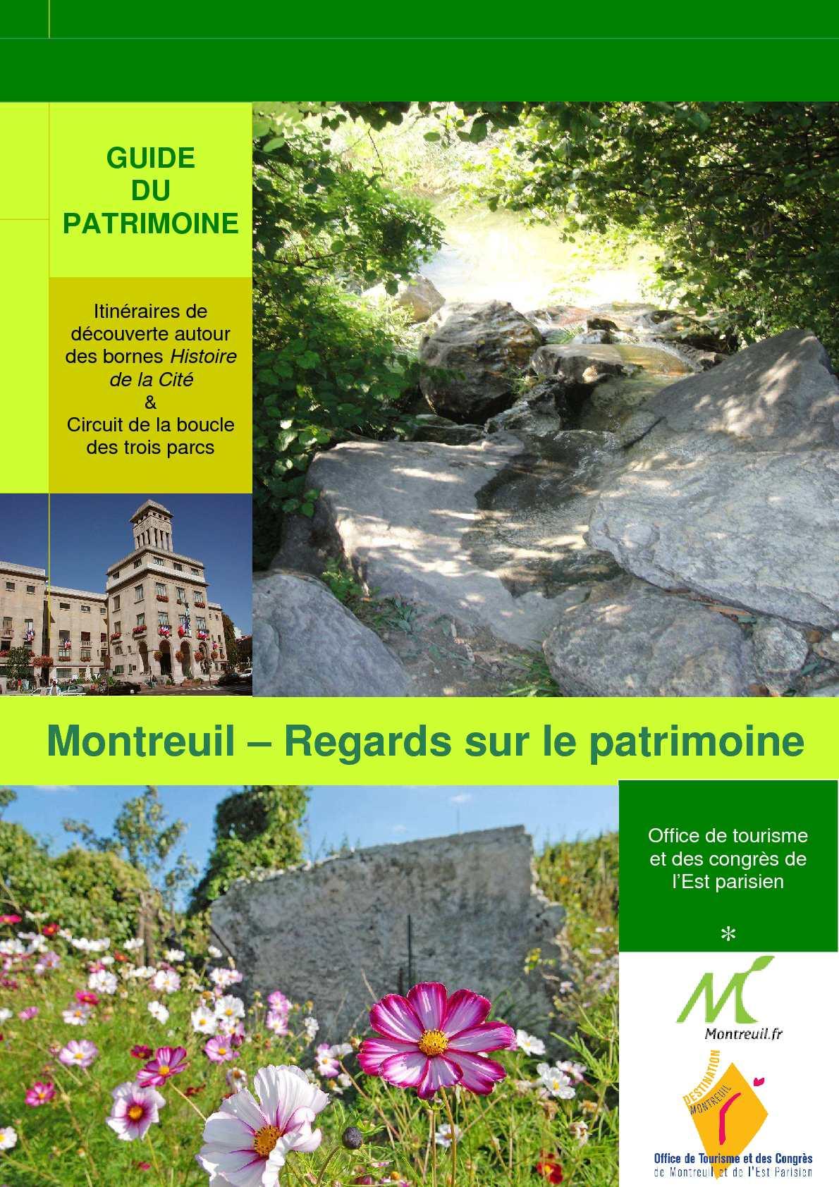 Calam o guide du patrimoine 2010 montreuil - Office de tourisme montreuil ...