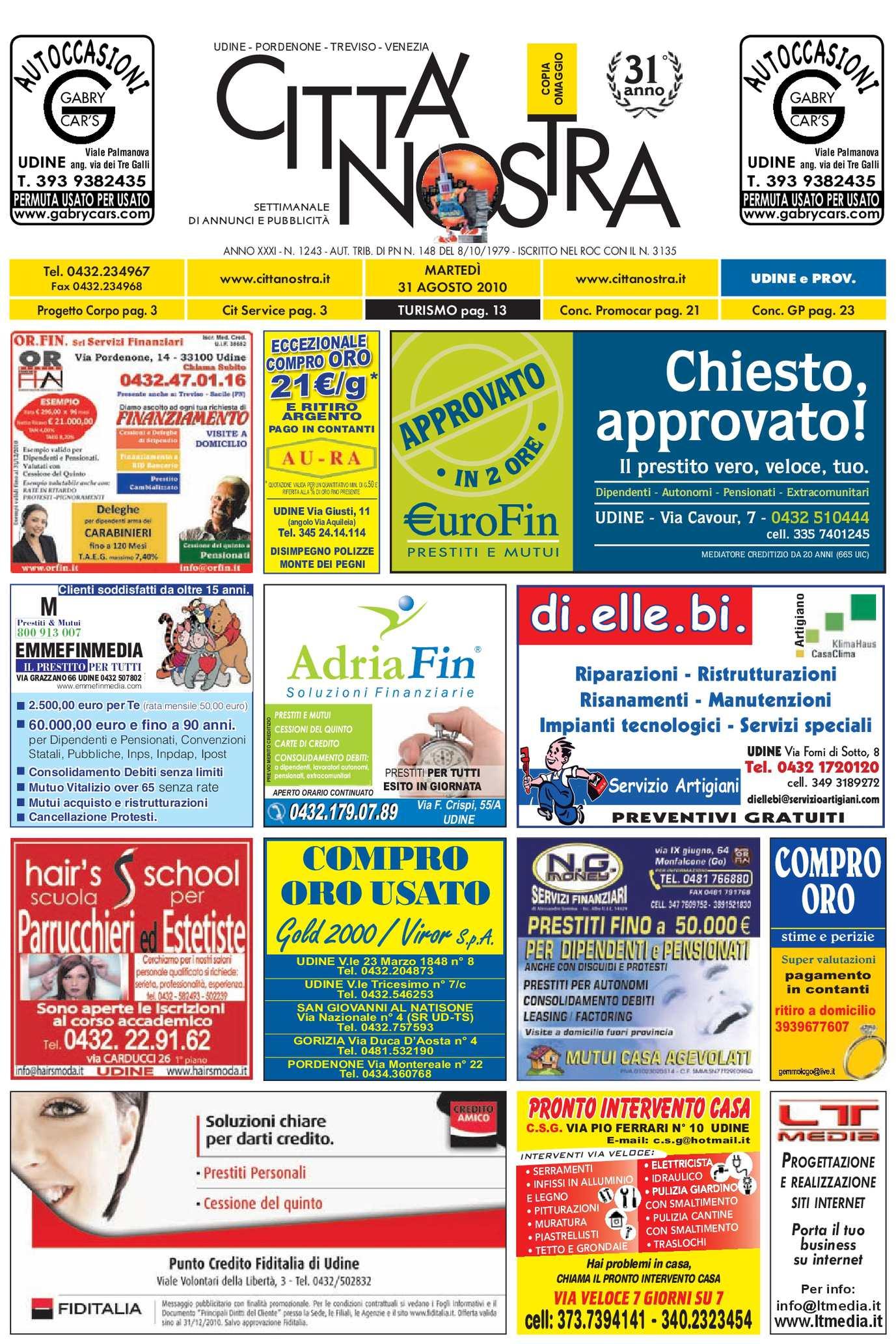 Del Udine Nostra Città 2010 Calaméo 08 N 31 1243 Epvtg7q7w