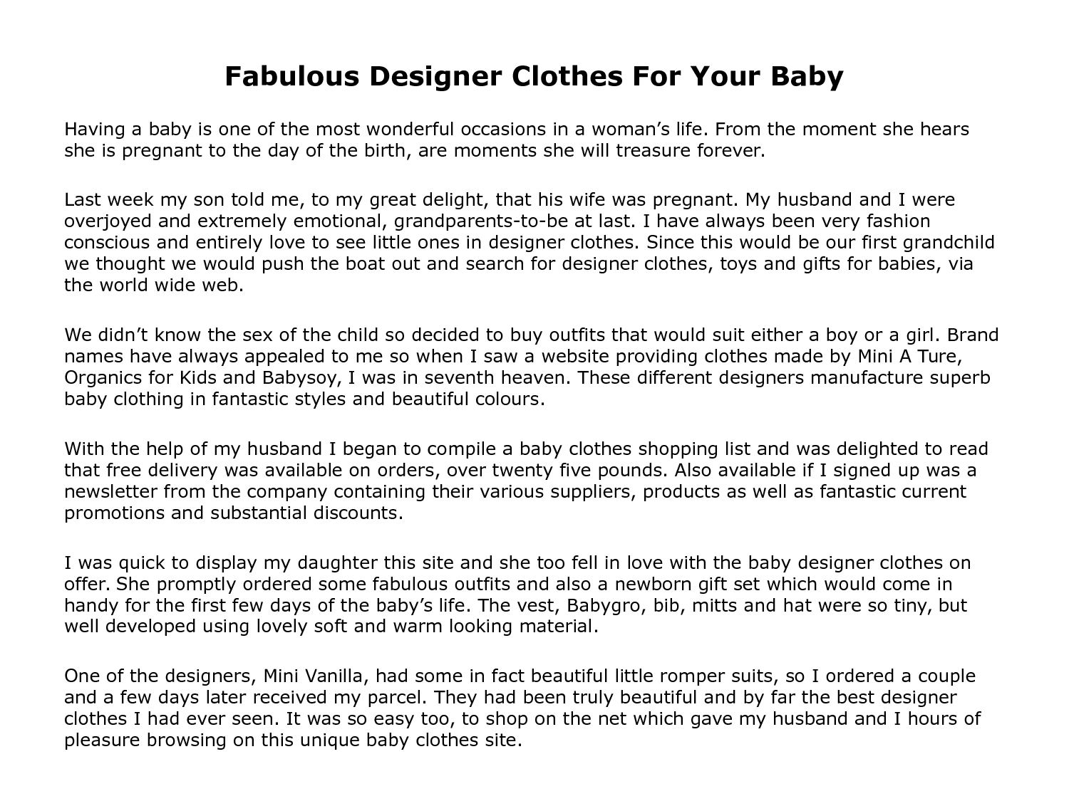 Designer Clothes For Little S | Calameo Fabulous Designer Clothes For Your Baby