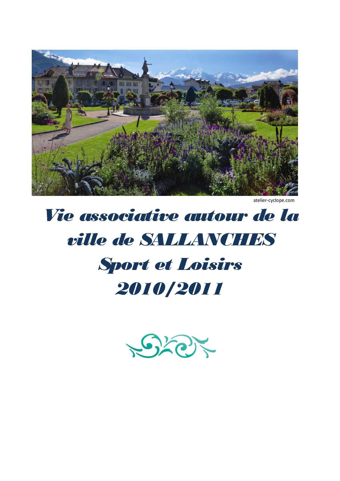 Calam o vie associative autour de la ville de sallanches - Piscine sallanches ...