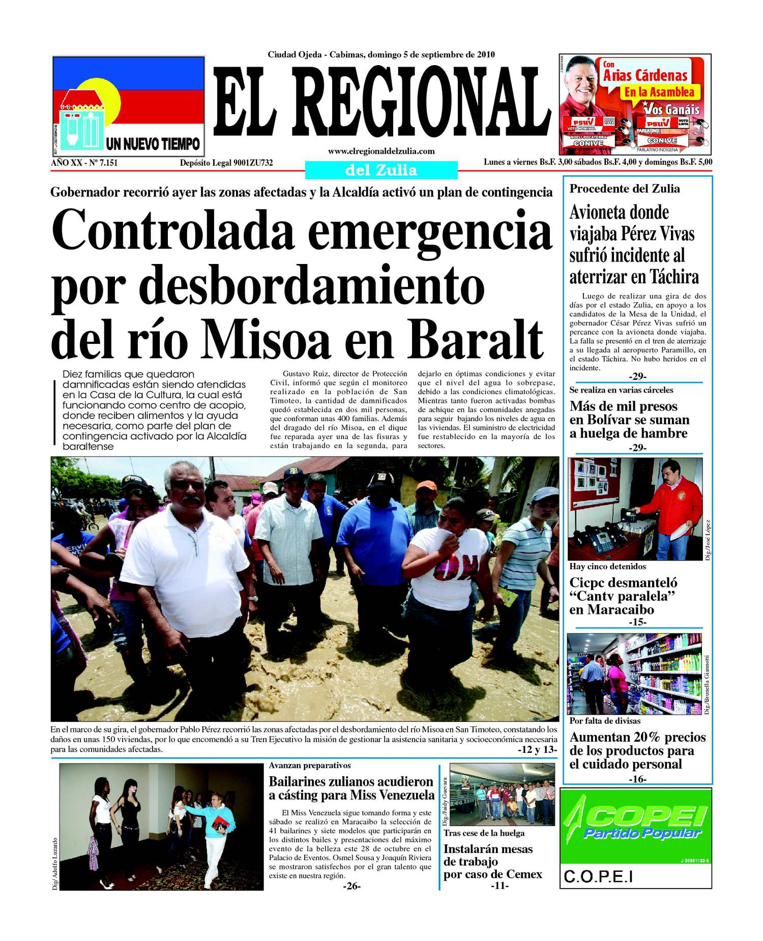 Calaméo - El Regional del Zulia | 05-09-2010
