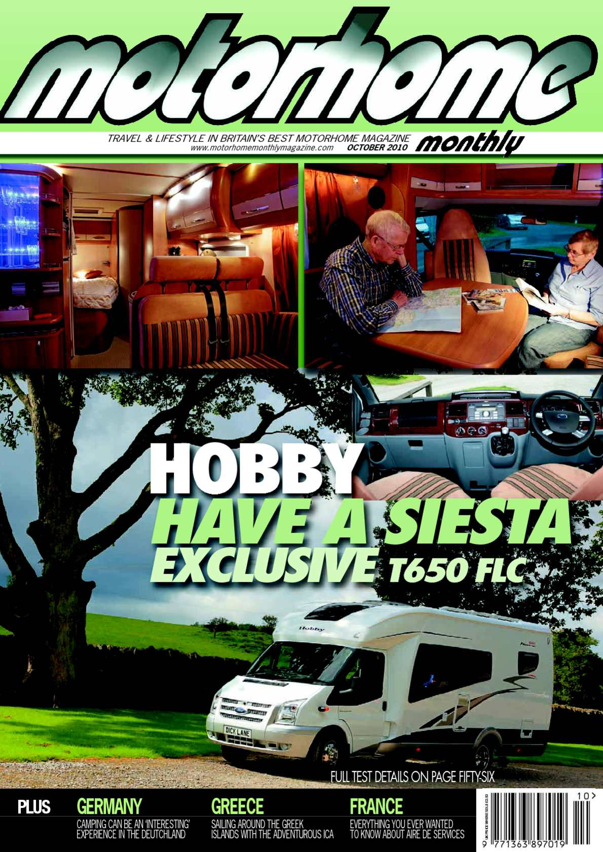 Calaméo October 2010 Motorhome Monthly Magazine