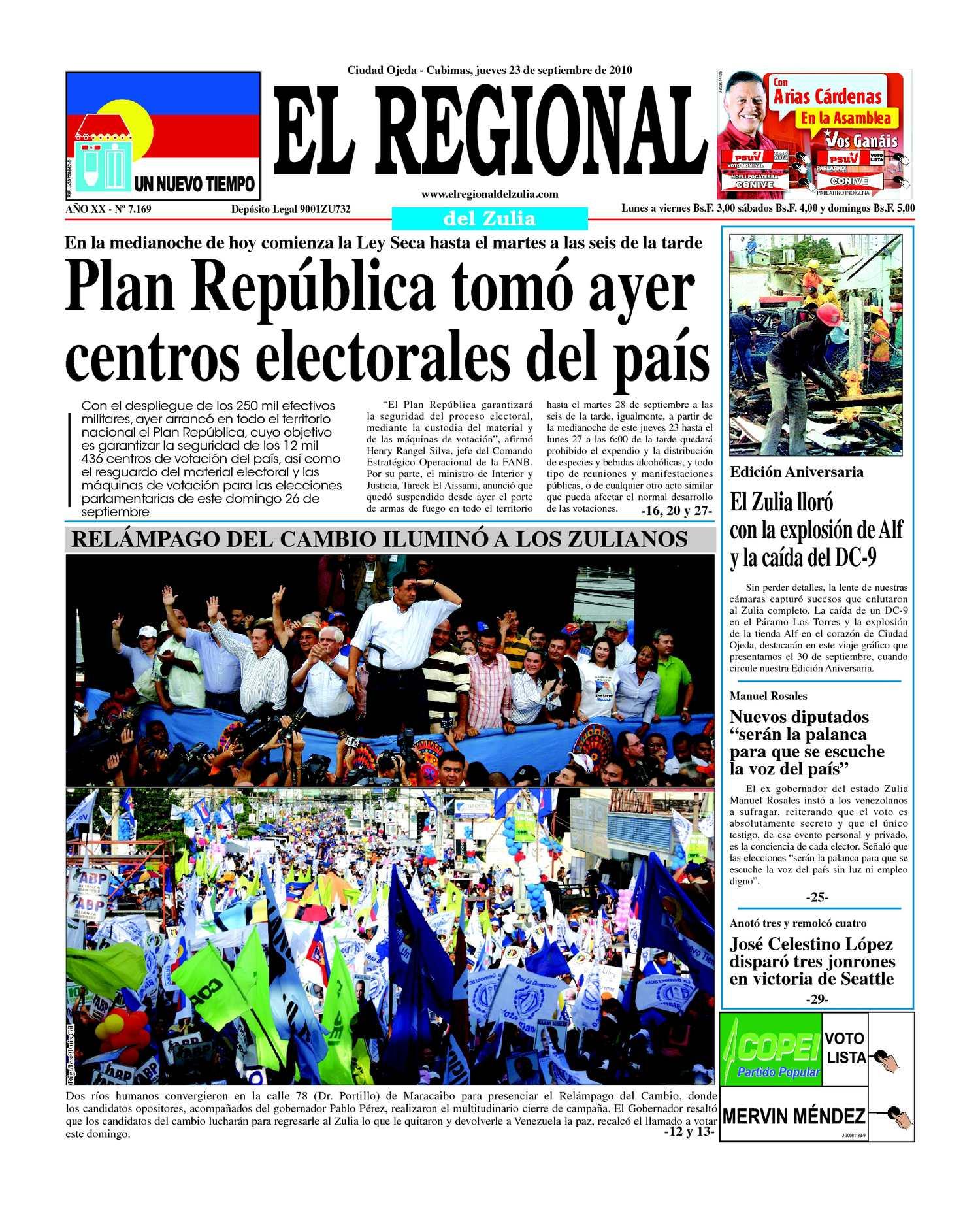 817dc6ae83a5 Calaméo - El Regional del Zulia