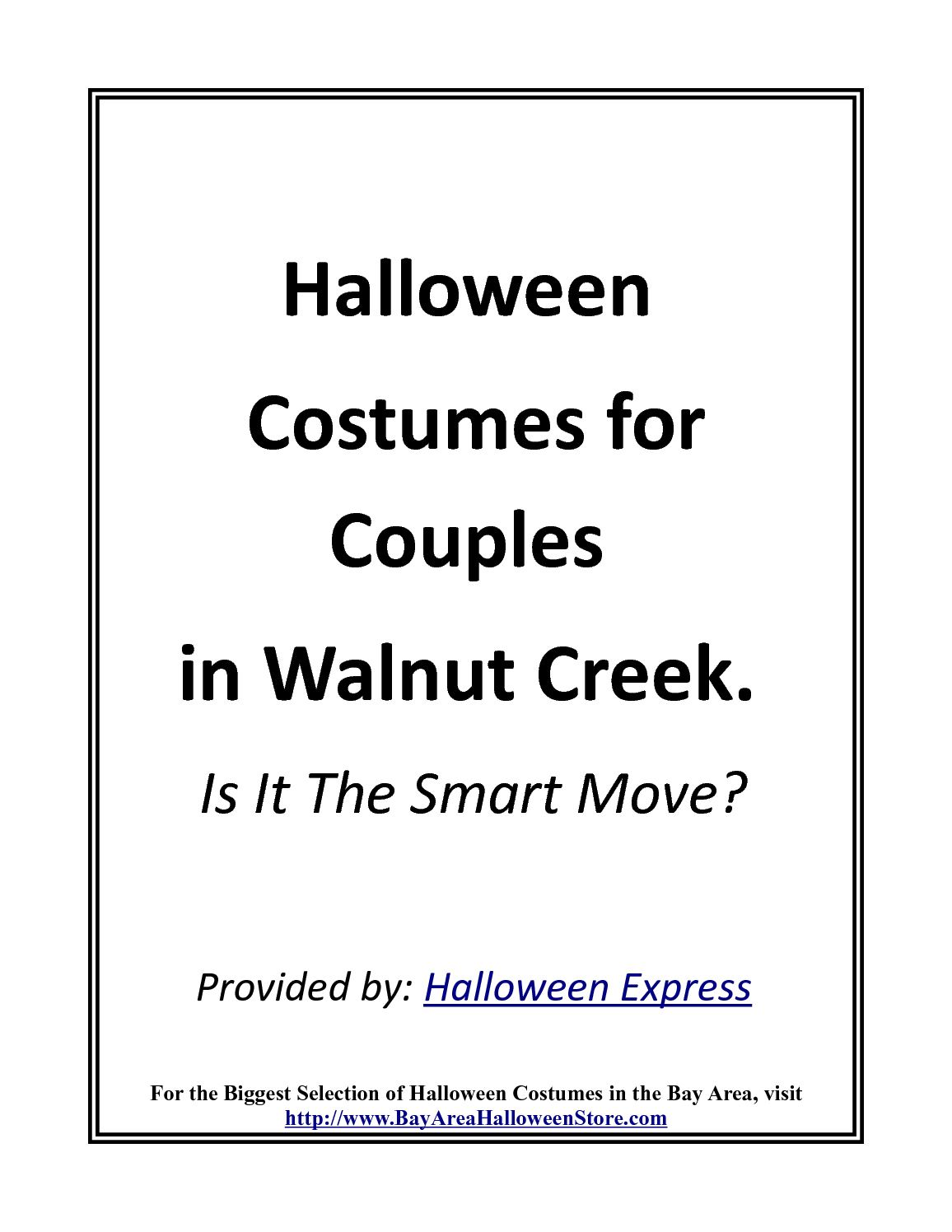 calaméo - halloween costumes for couples. is it smart in walnut creek?