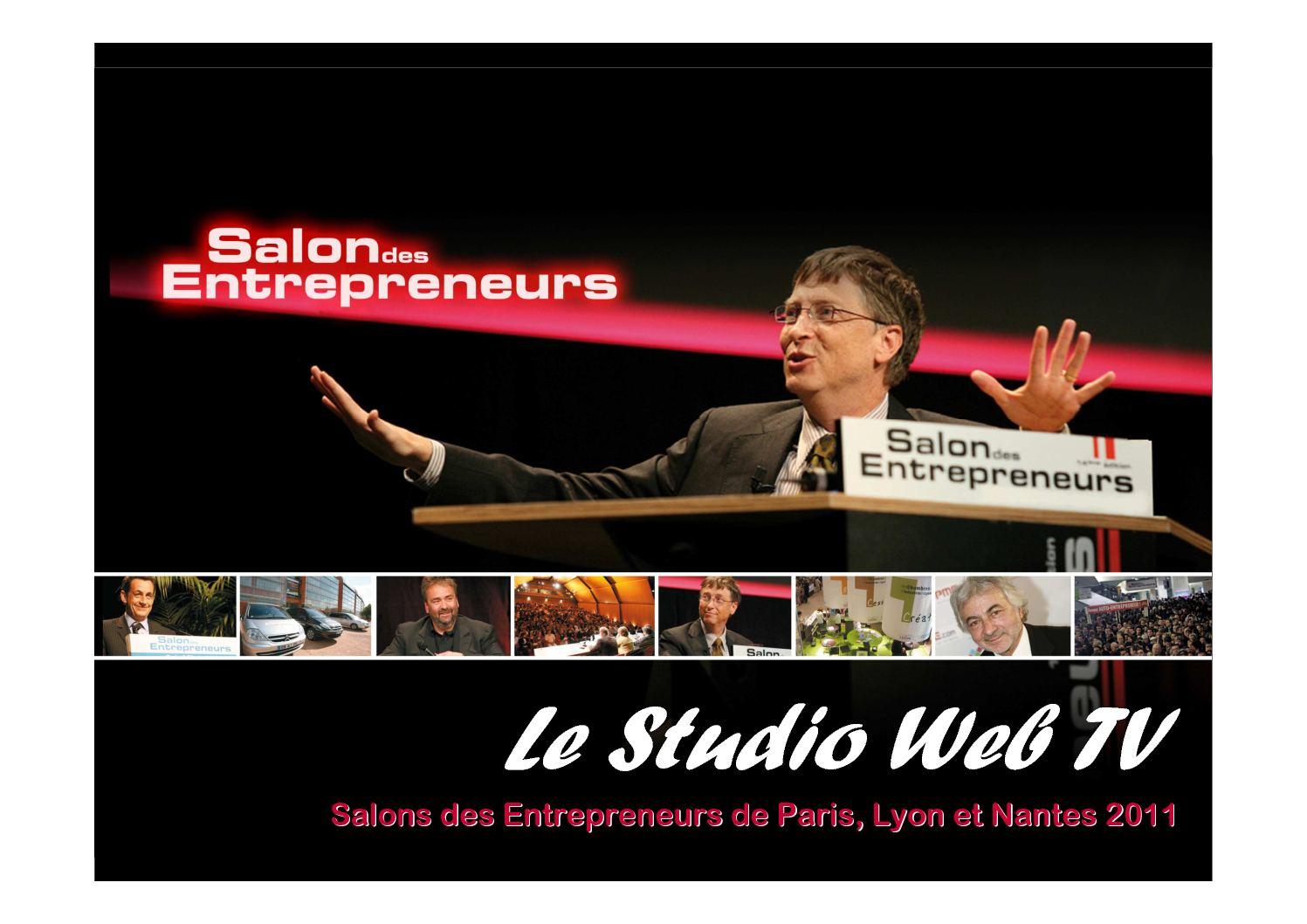 Calam o studio 2011 - Salon entrepreneurs nantes ...
