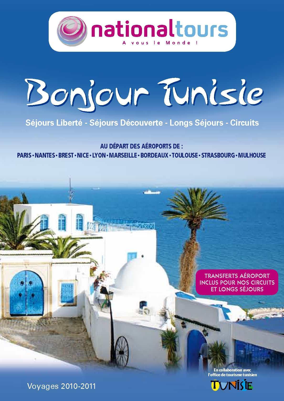 Calam o bonjour tunisie 2010 2011 - Office de tourisme tunisie ...