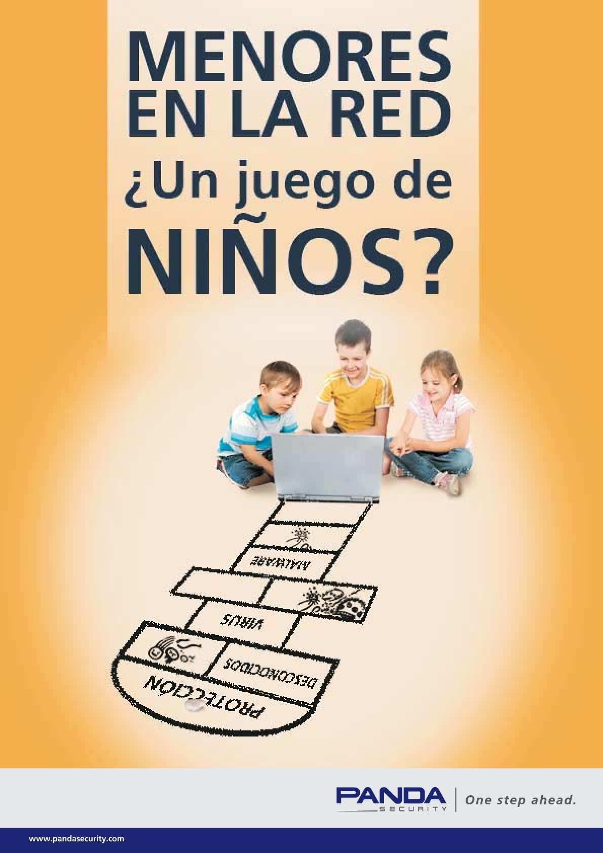 Guía: Menores en la Red ¿un juego de niños?