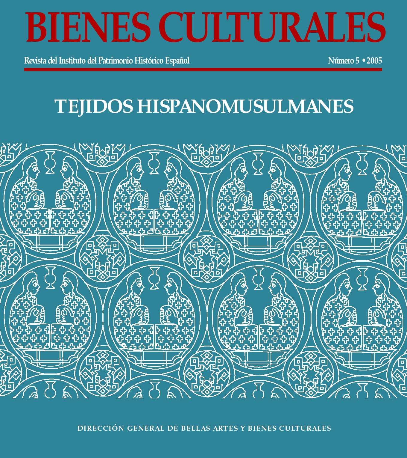 Calaméo - Bienes Culturales Nº 5 . 2005. Tejidos hispanomusulmanes ...