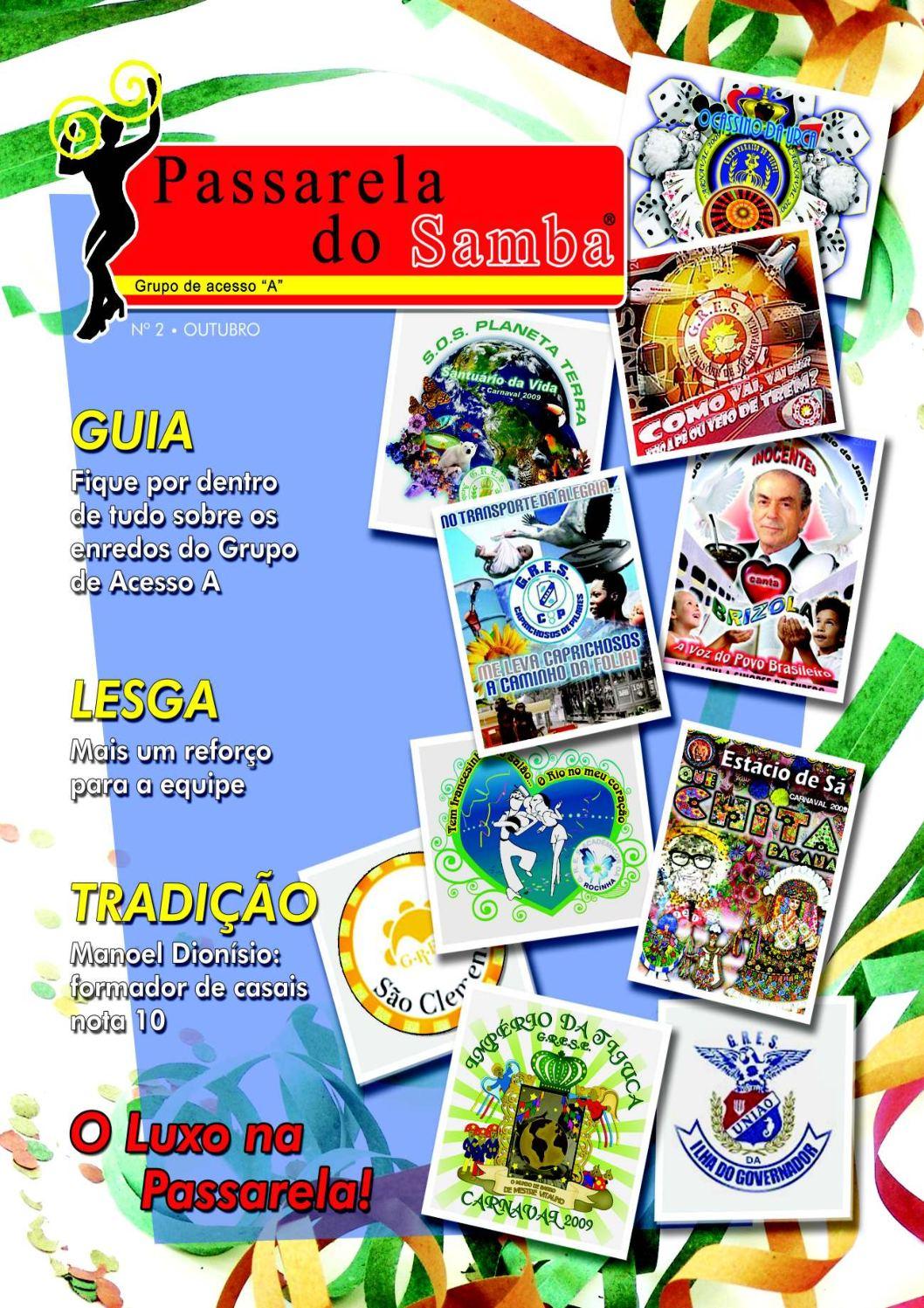 REVISTA PASSARELA DO SAMBA - EDIÇÃO 2