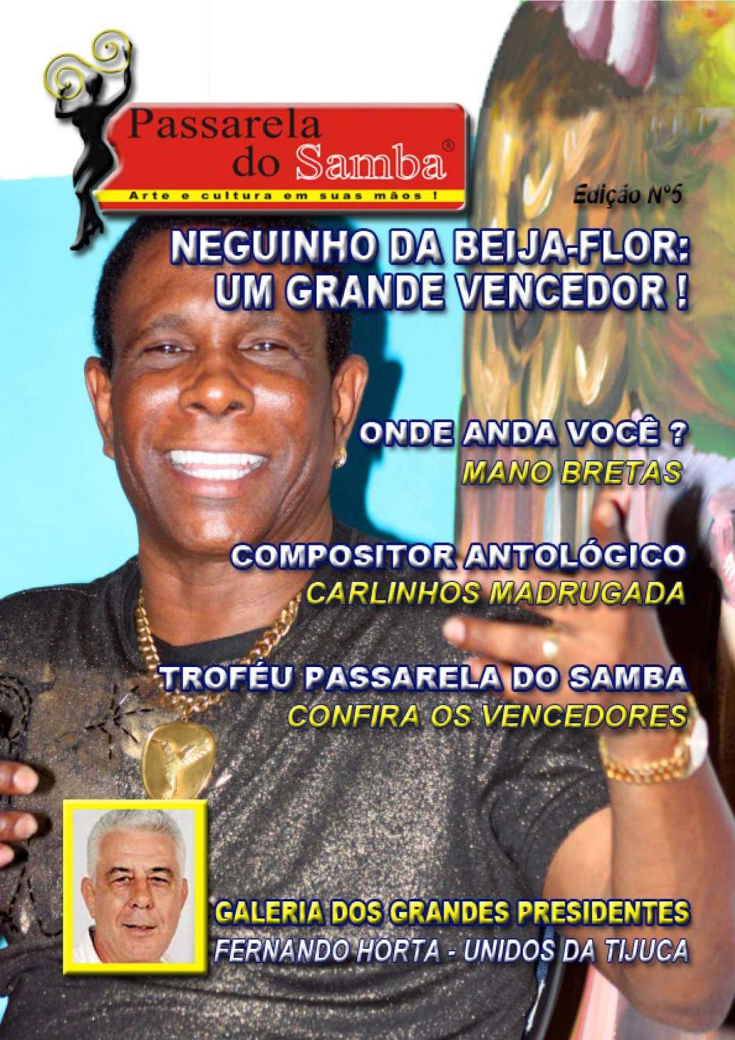 REVISTA PASSARELA DO SAMBA - EDIÇÃO 5