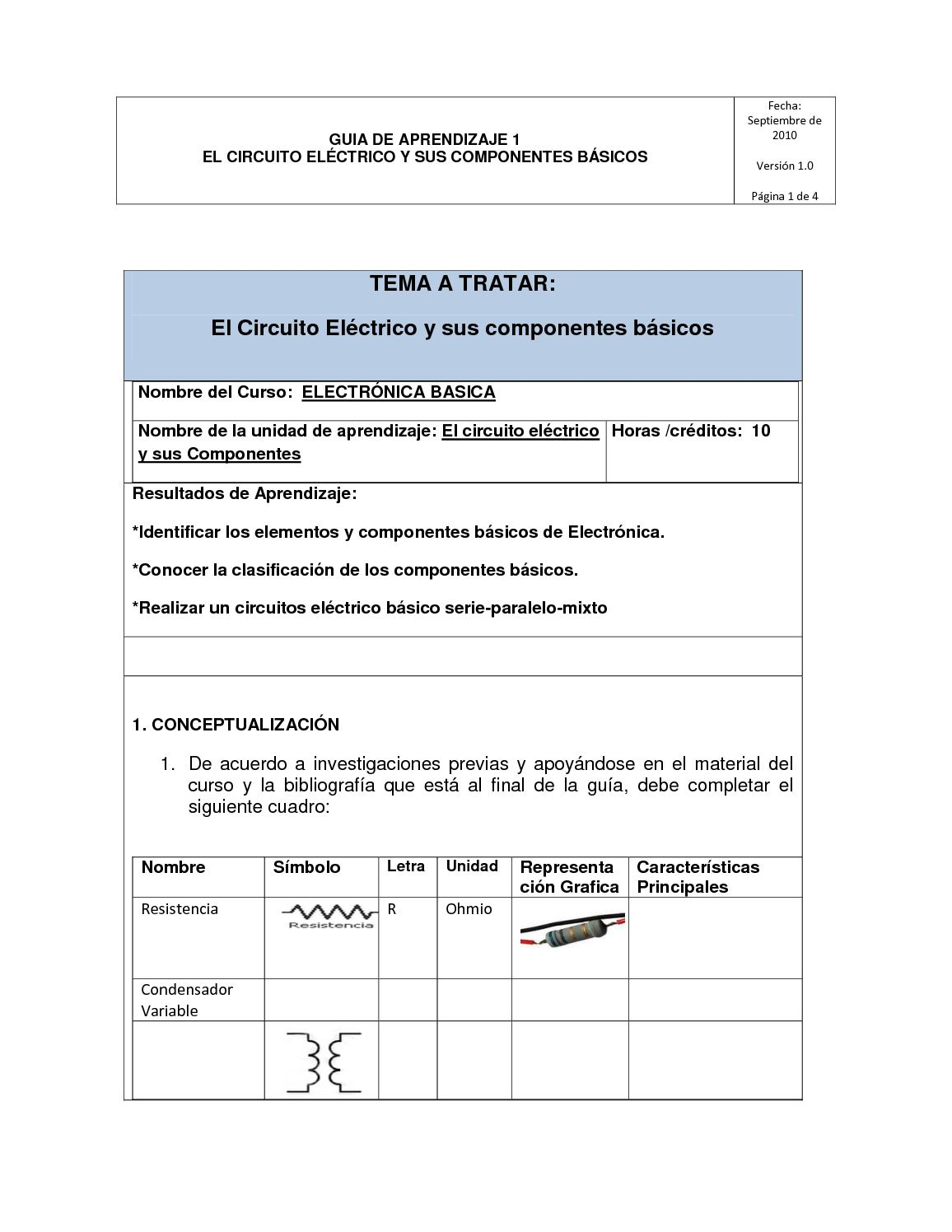 Circuito Basico Electrico : Circuitos mixtos eléctricos y ejercicios resueltos