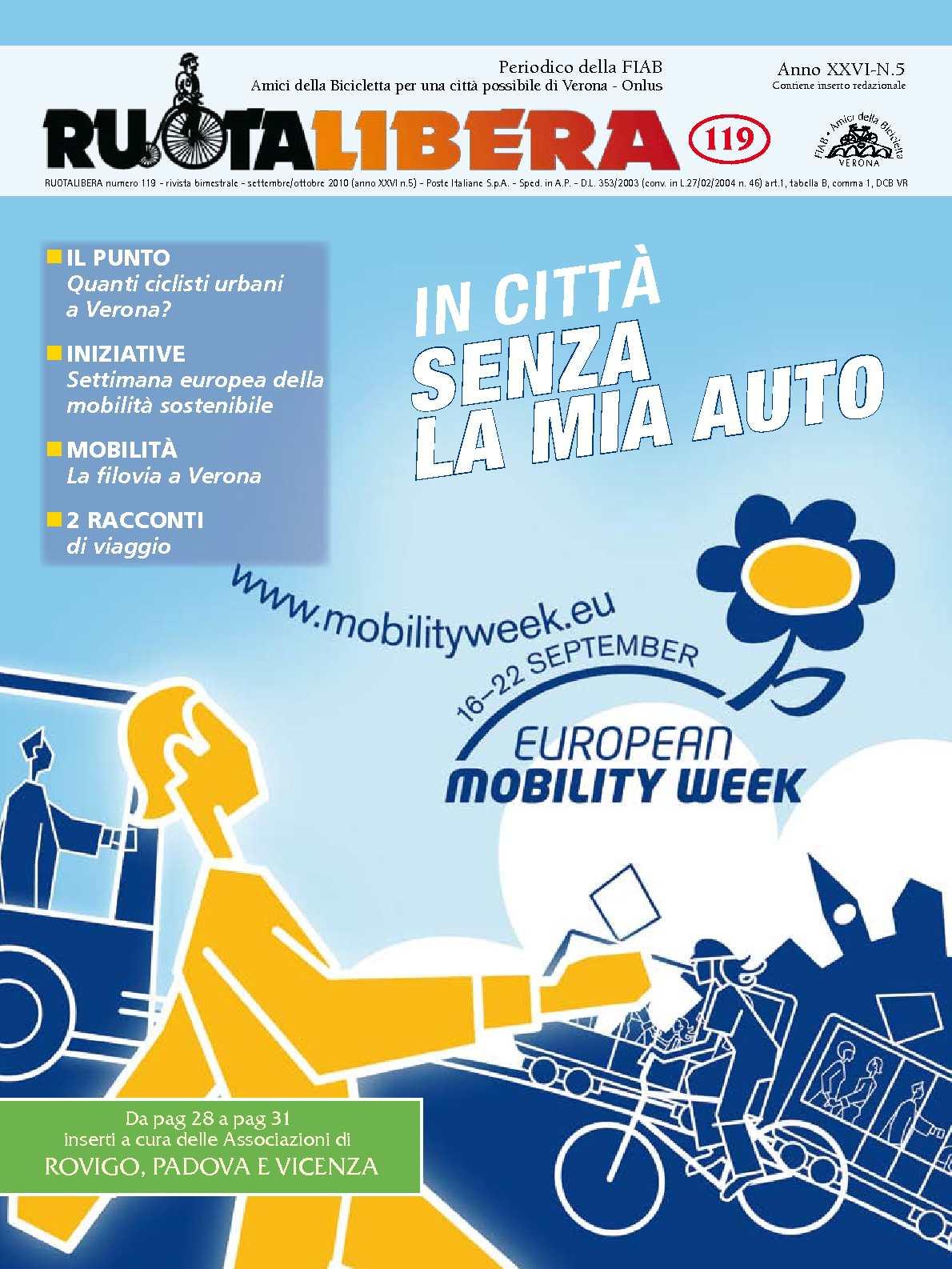 Ruotalibera 119 (settembre/ottobre 2010) - FIAB AdB Verona