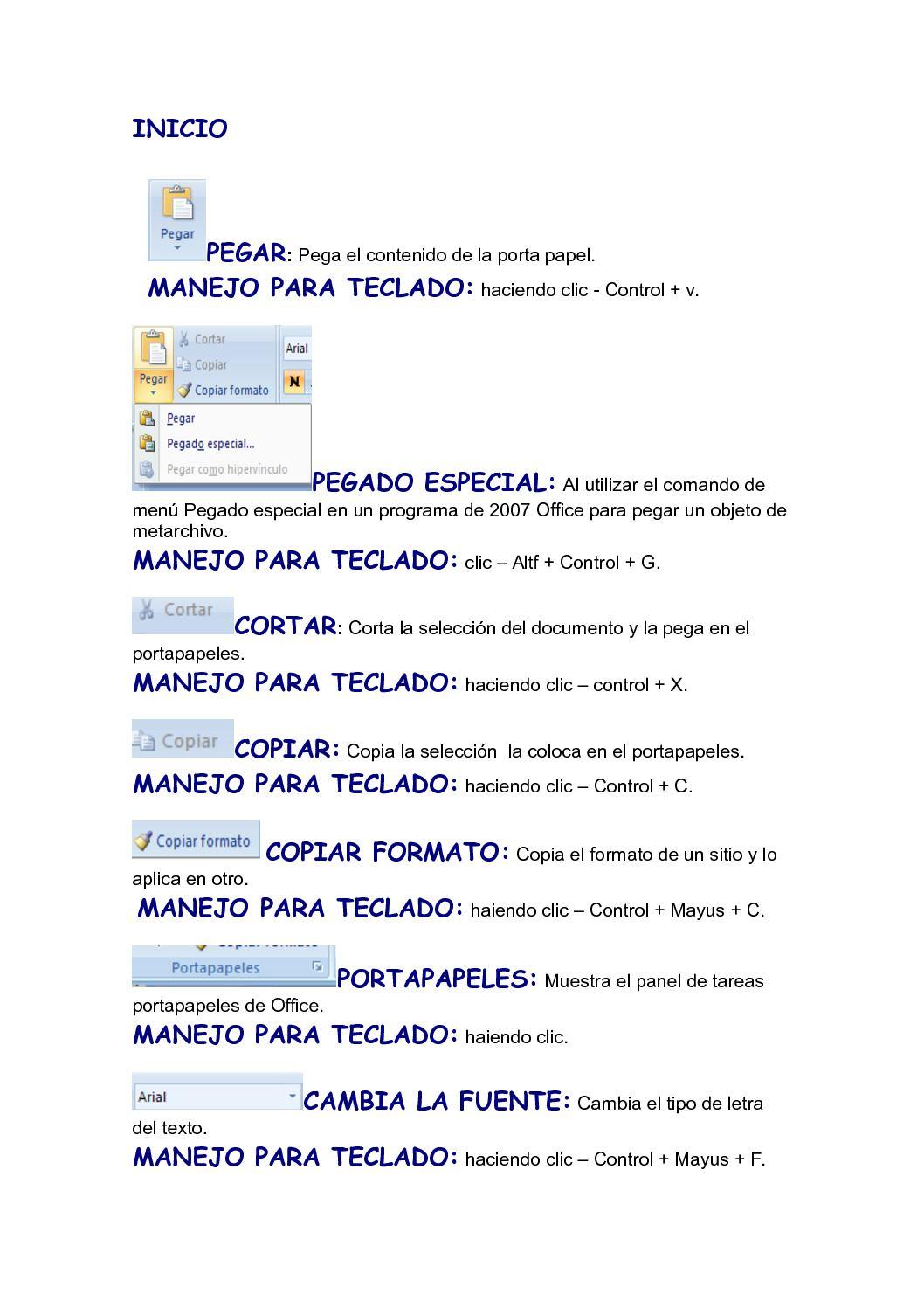 Calaméo - definiciones de de word