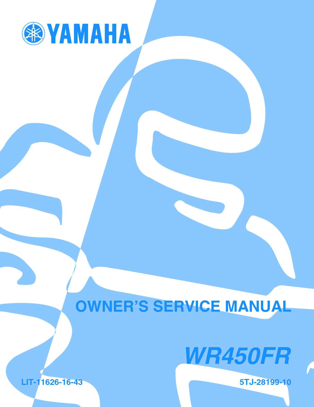Calamo Manual Taller Yamaha Wr 450 F 2003 Digital Tachometer Wiring Diagram Free Download