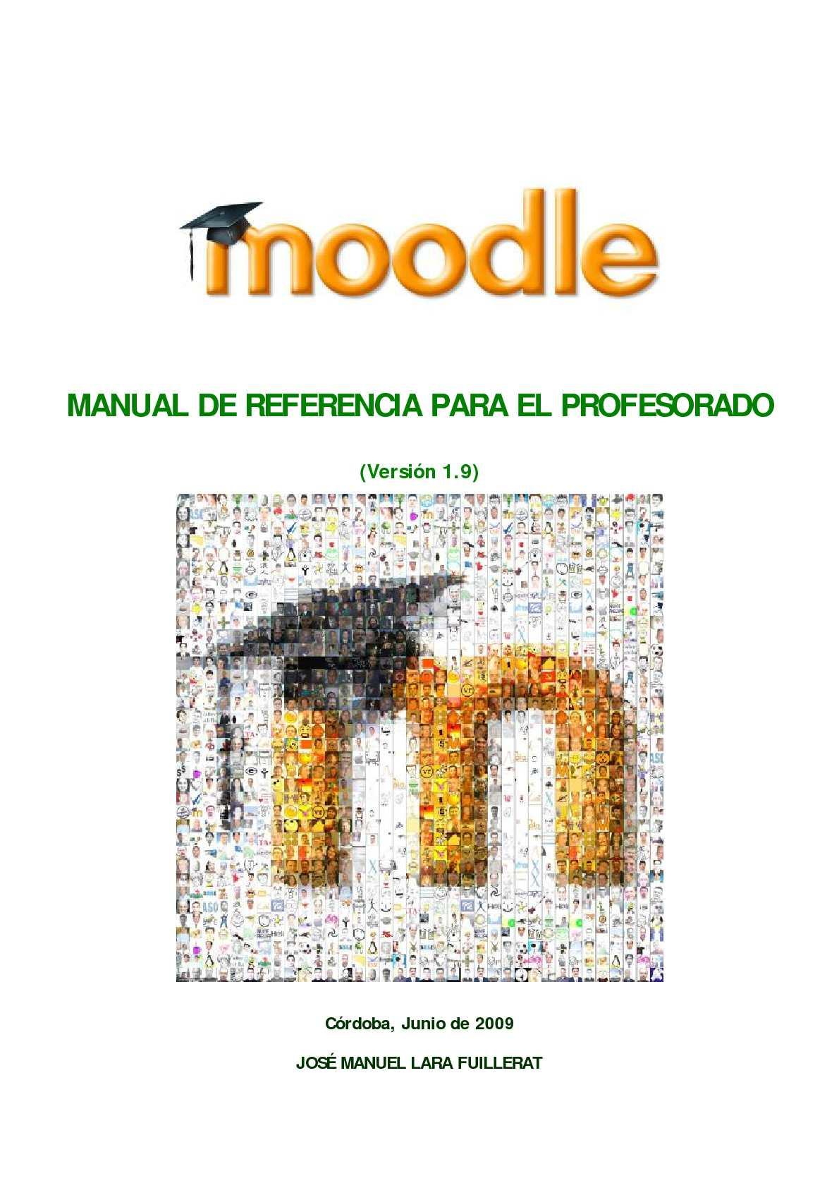 Calaméo - Moodle. Manual de referencia para el profesorado (versión 1.9)