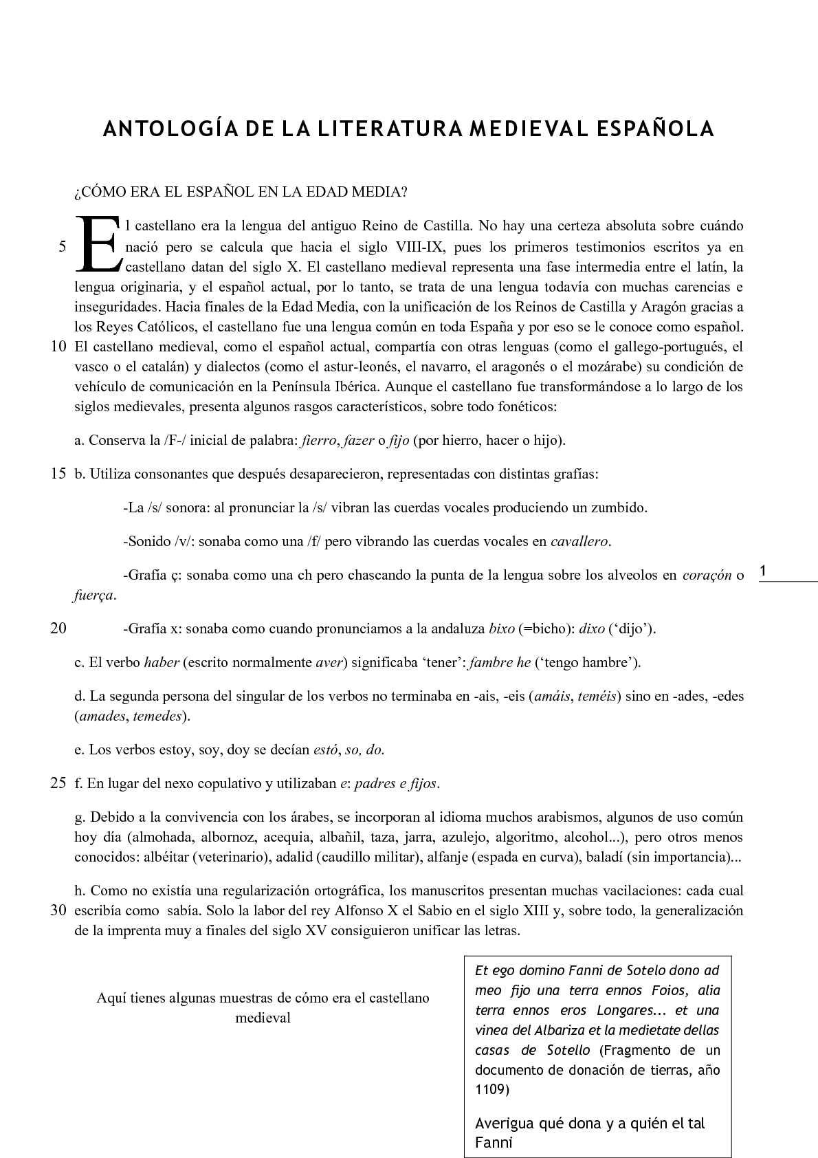 Calaméo - Antología de la literatura medieval
