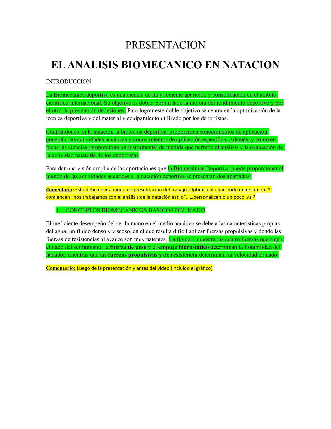Calaméo - DESARROLLO TEÓRICO INFORMATIVO - NATACIÓN