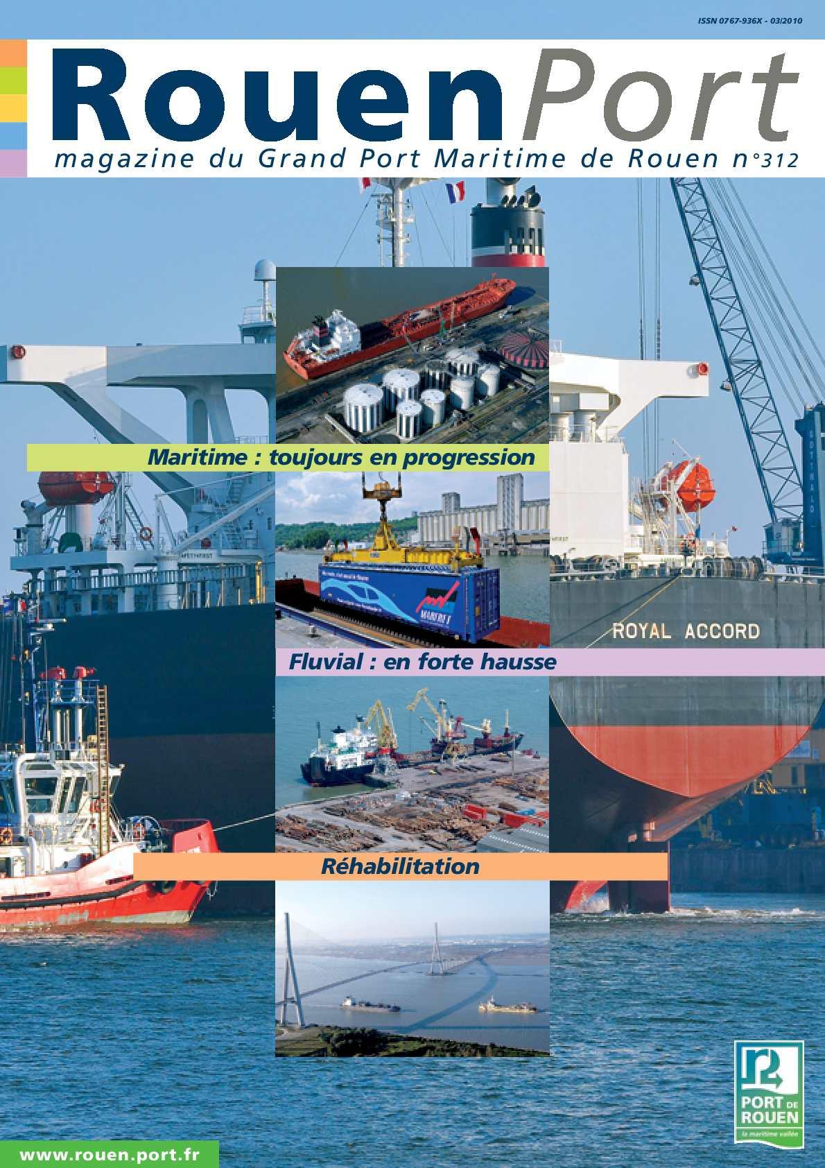 Calam o rouen port magazine - Grand port maritime de rouen ...
