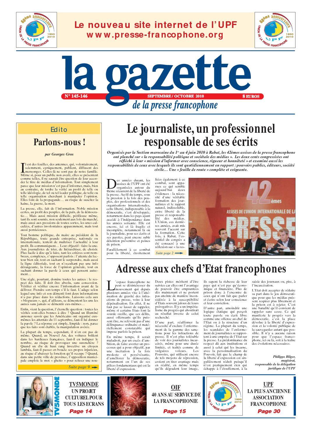 Calaméo - La Gazette 145 651179552039