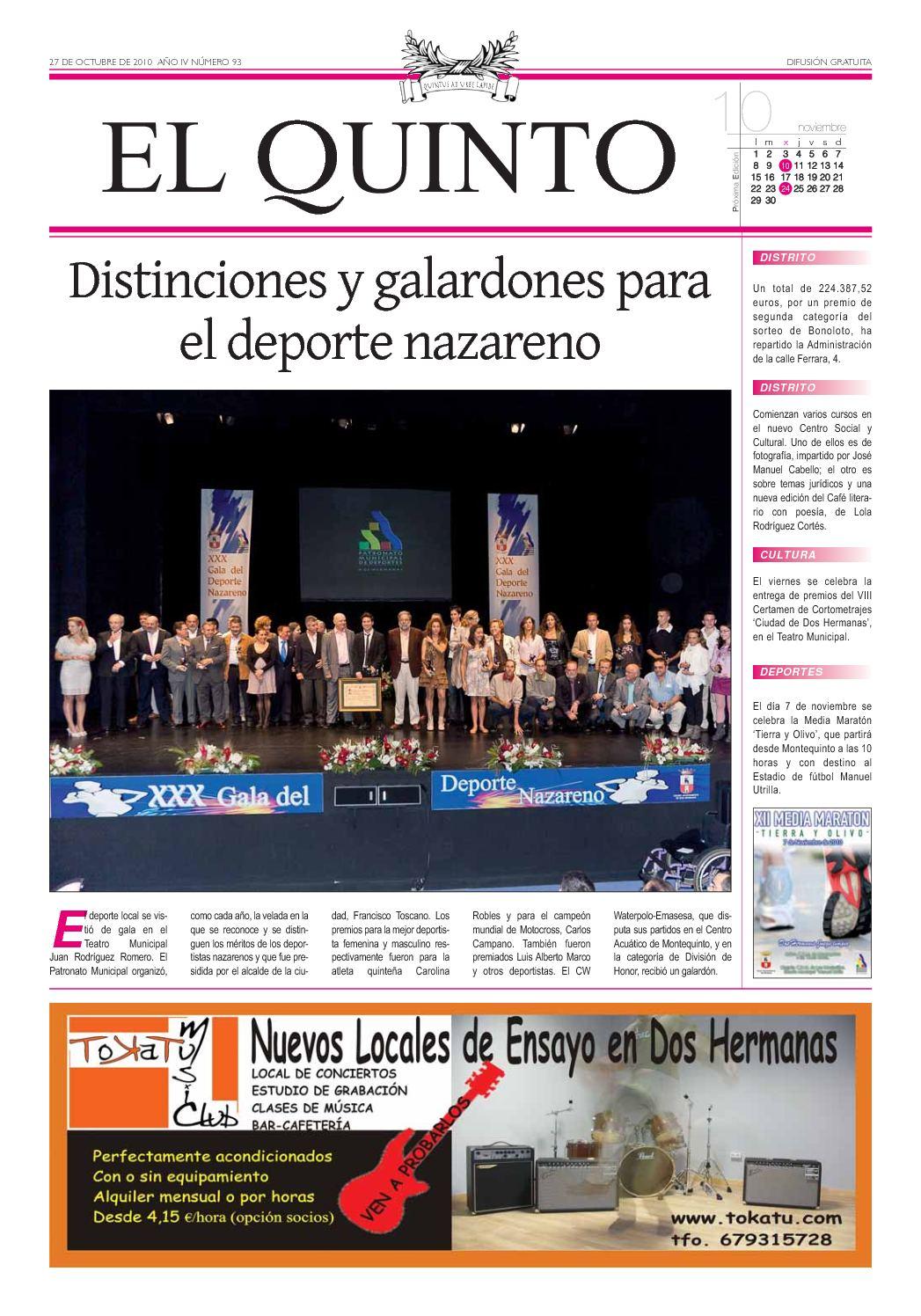 Calaméo - Periódico El Quinto nº 93